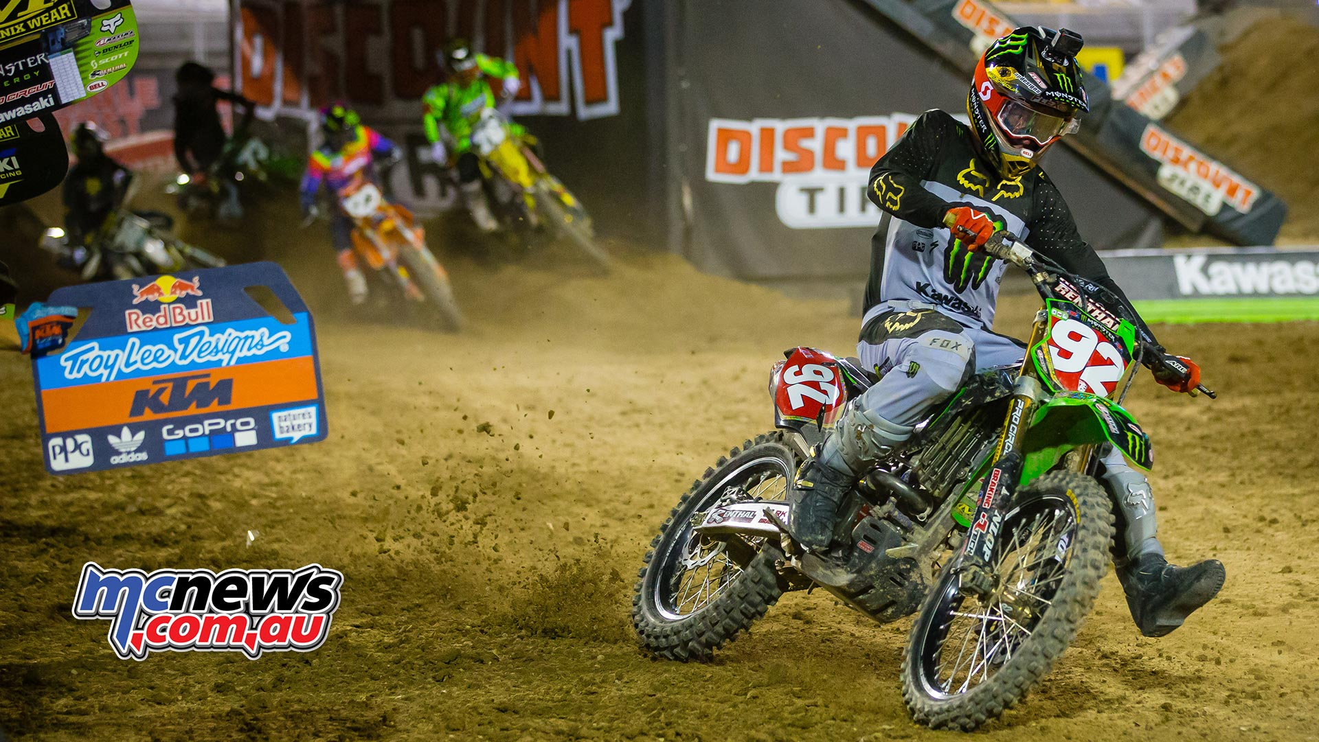 AMA Supercross FInal Cianciarulo JK SX Vegas