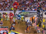 AMA Supercross FInal Osborne Baggett Starts JK SX Vegas Cover