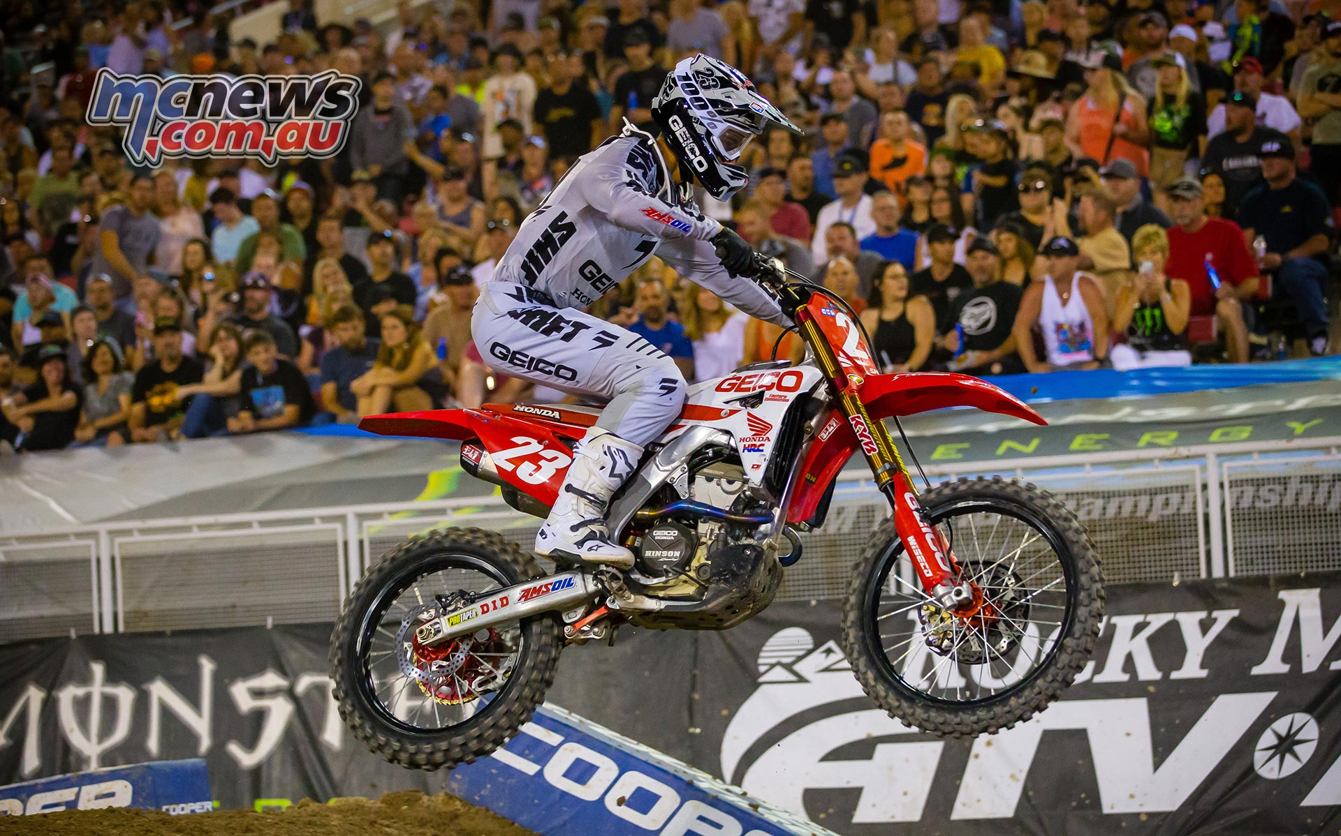 AMA Supercross FInal Sexton JK SX Vegas