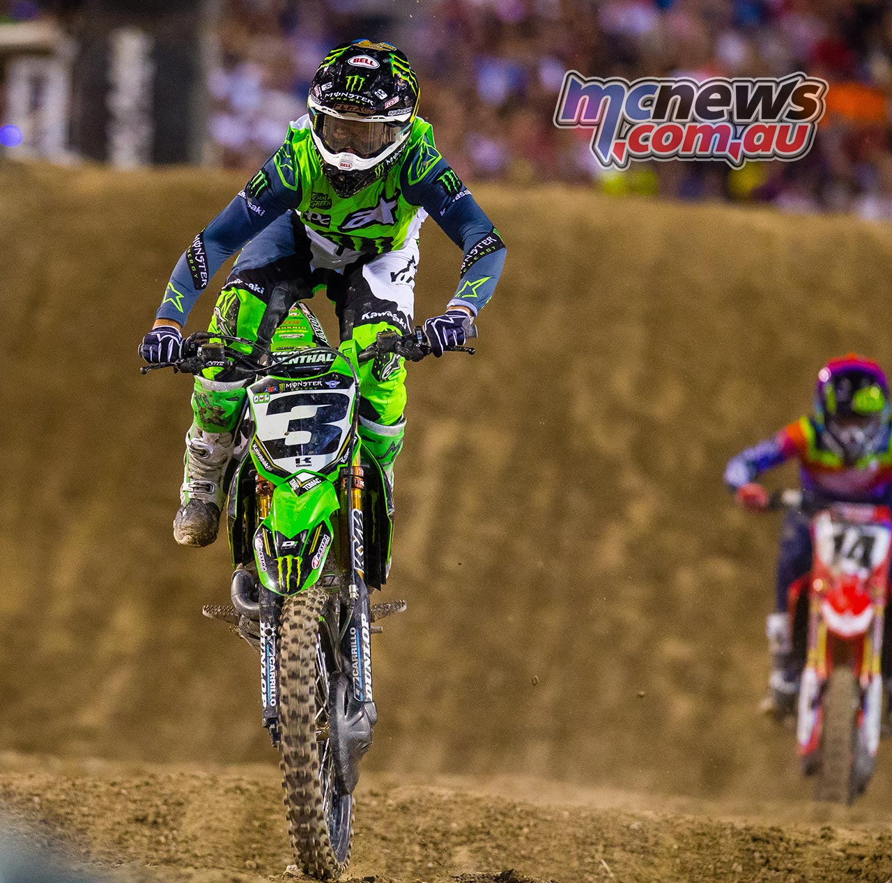 AMA Supercross FInal Tomac JK SX Vegas