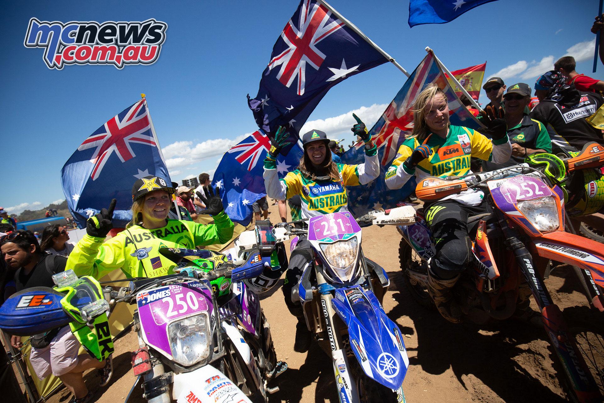 ISDE Australian Team announced