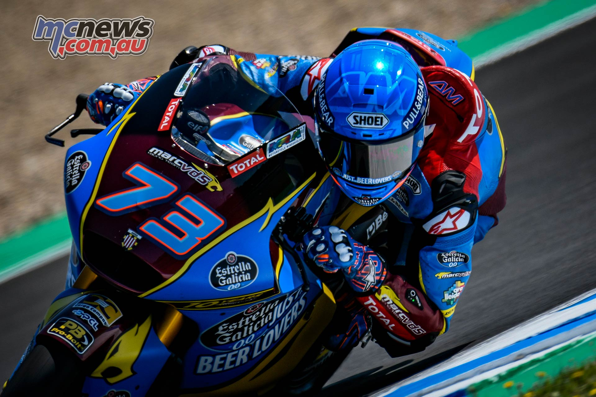 Moto Test Jerez May Alex Marquez