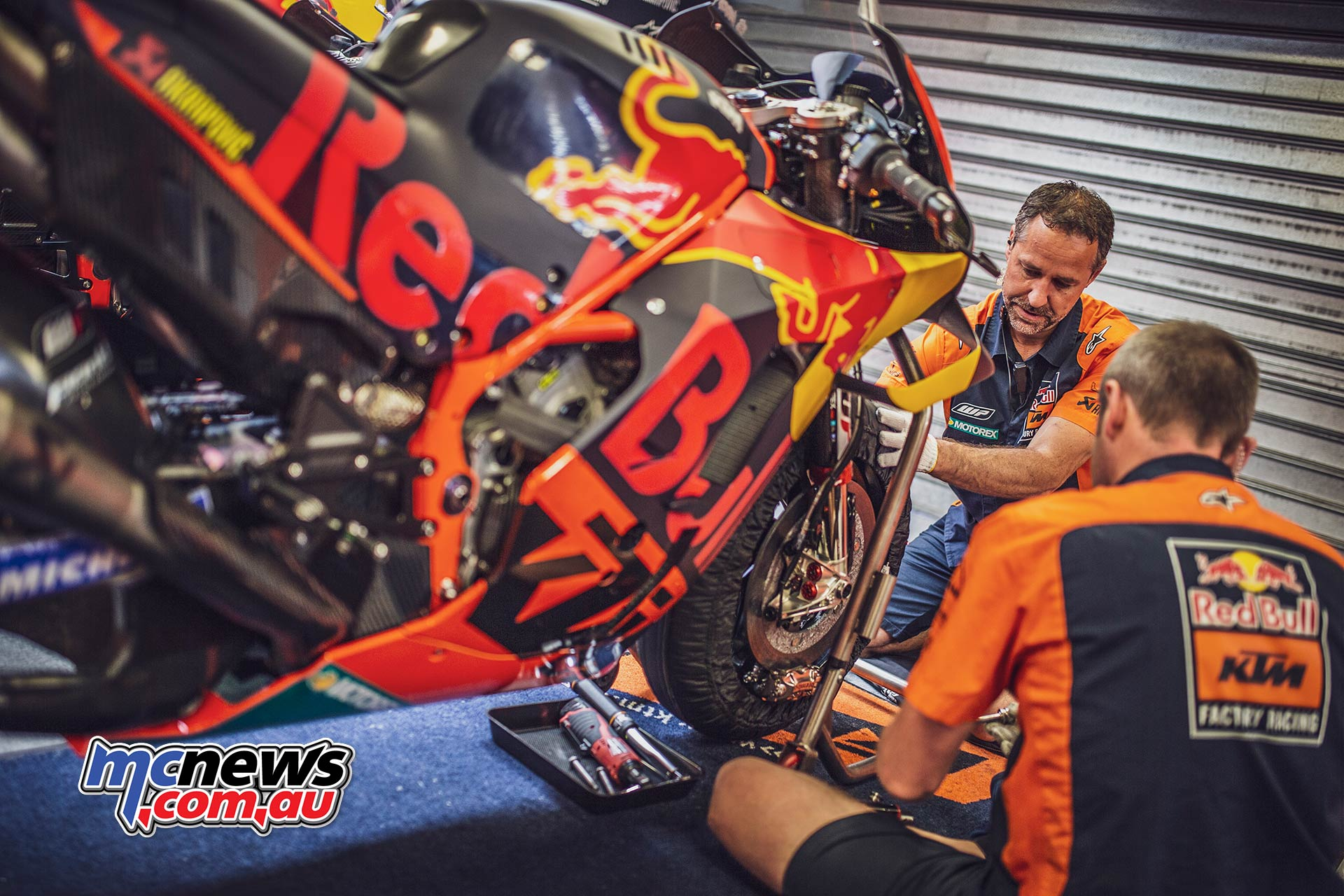 MotoGP KTM Mechanics
