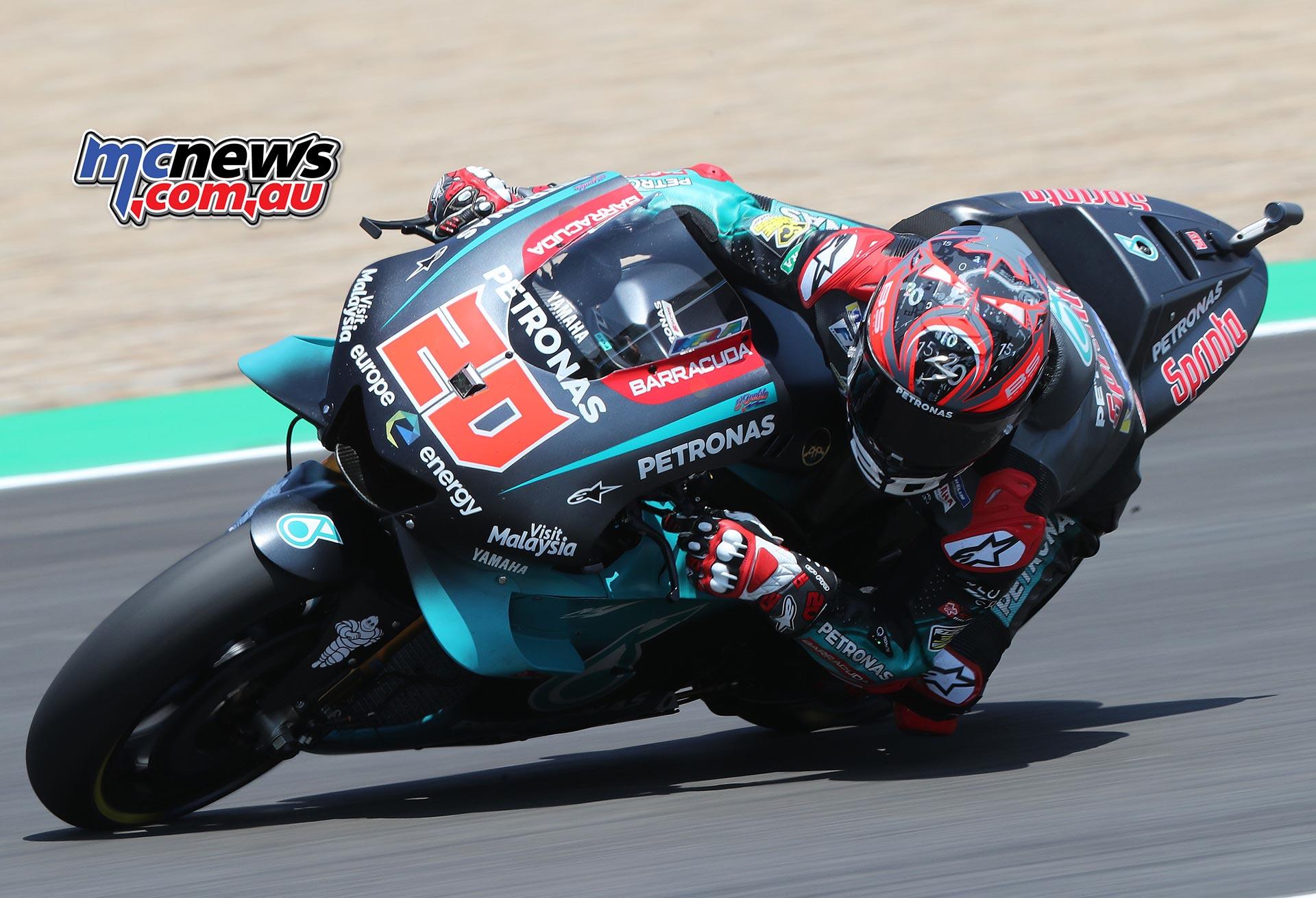MotoGP Rnd Jerez Fabio Quartararo