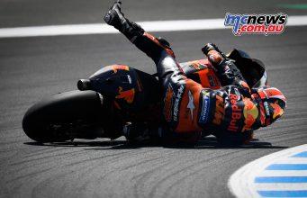 MotoGP Rnd Jerez Johann Zarco Crash