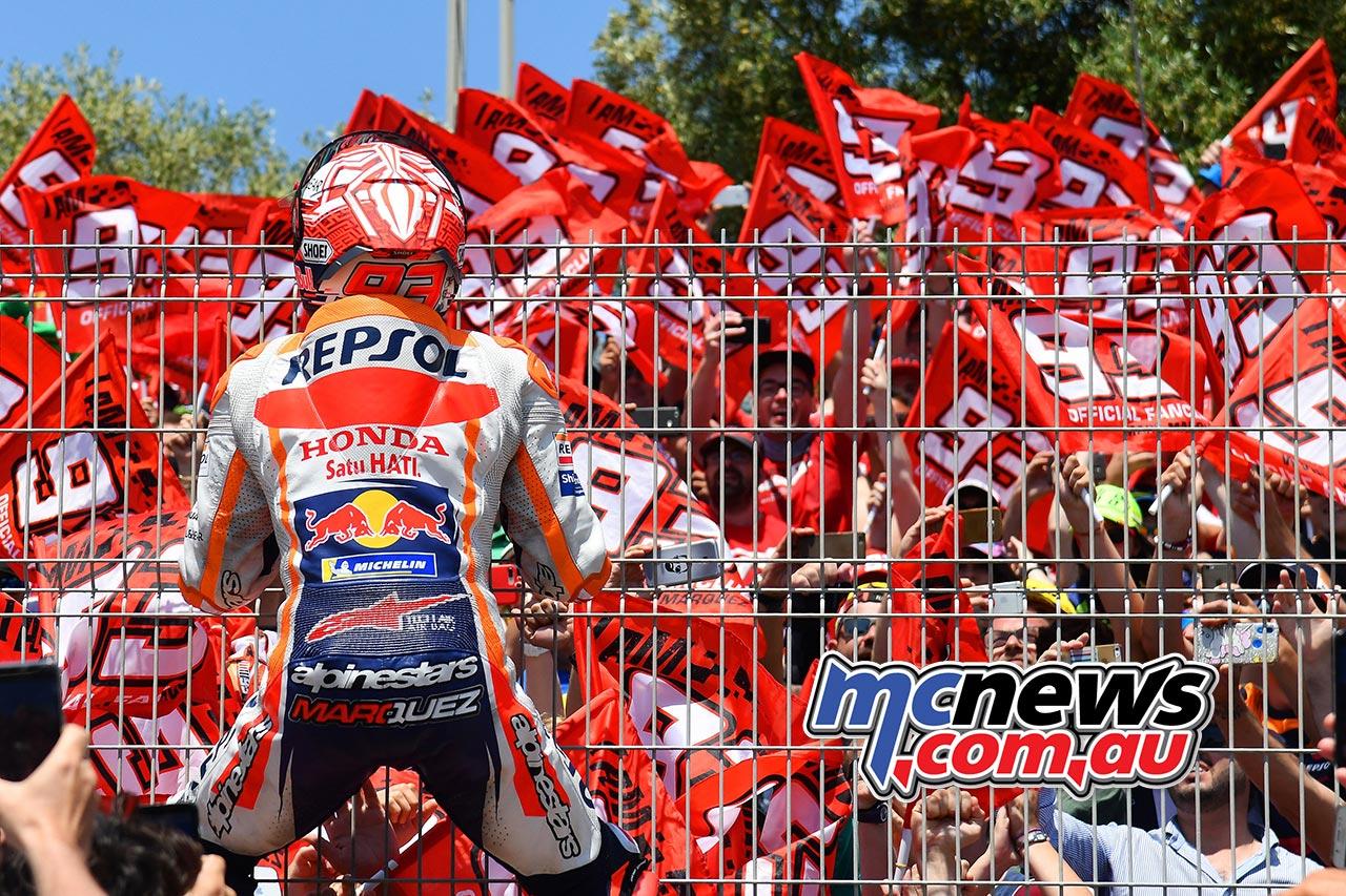 MotoGP Rnd Jerez Marquez Fans