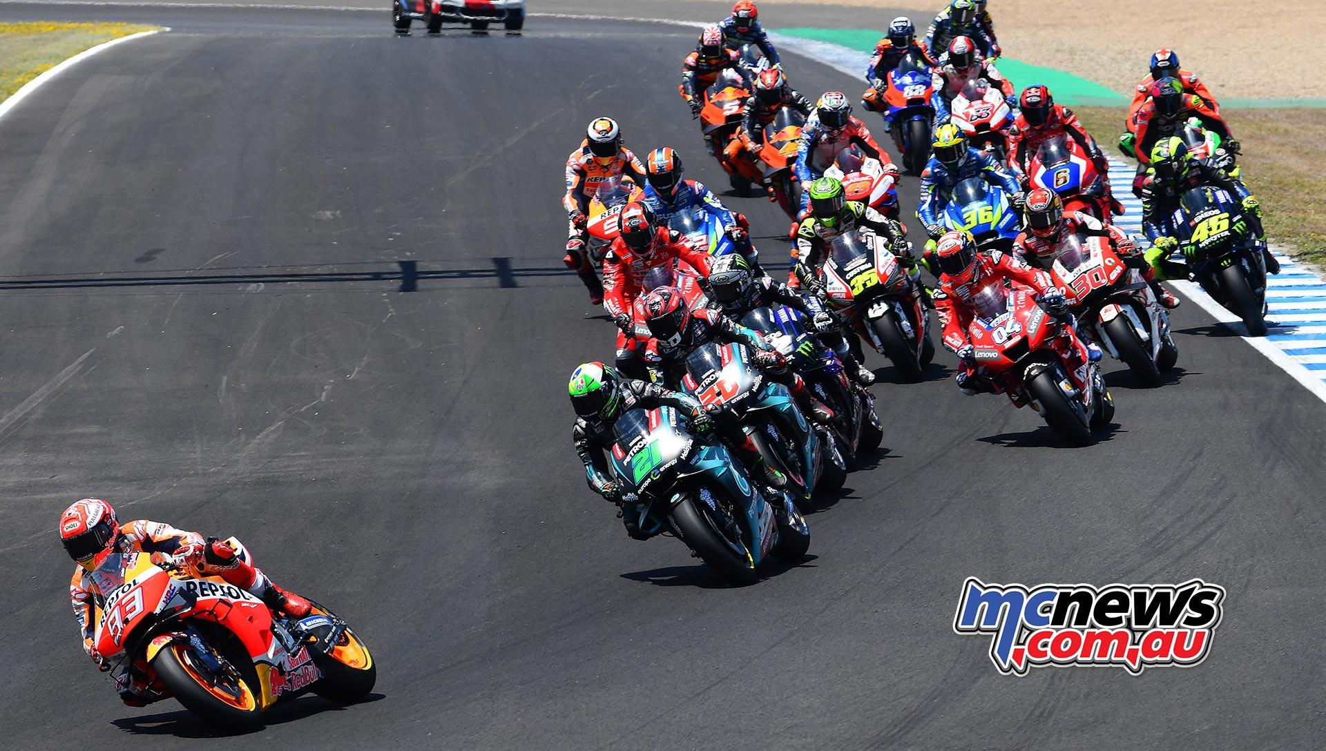 MotoGP Rnd Jerez Start
