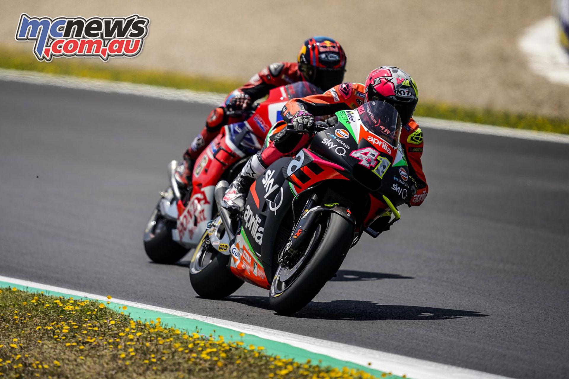 MotoGP Rnd Jerez Sun Aleix Espargaro