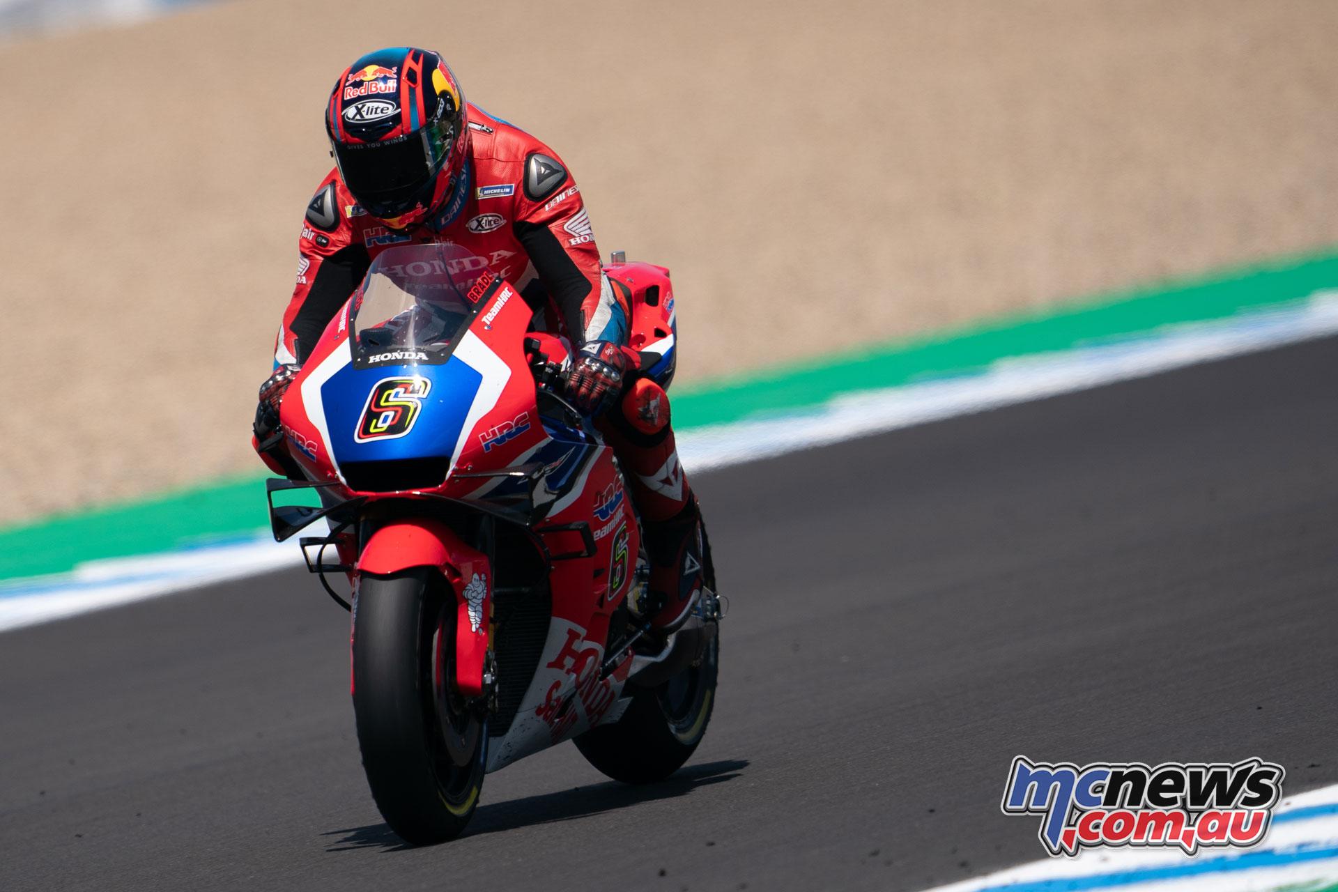 MotoGP Rnd Jerez Sun Bradl