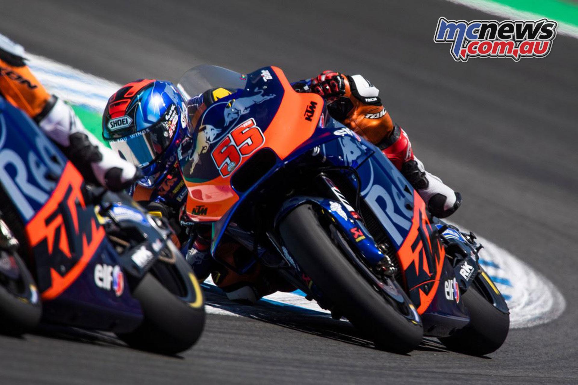 MotoGP Rnd Jerez Sun Hazifh Syahrin