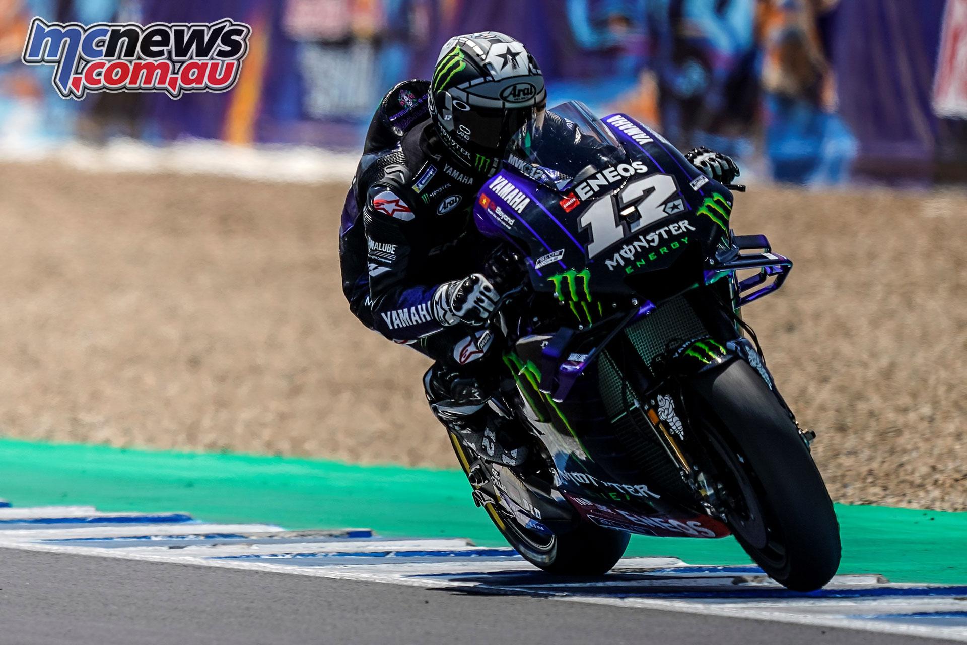 MotoGP Rnd Jerez Sun Maverick Vinales