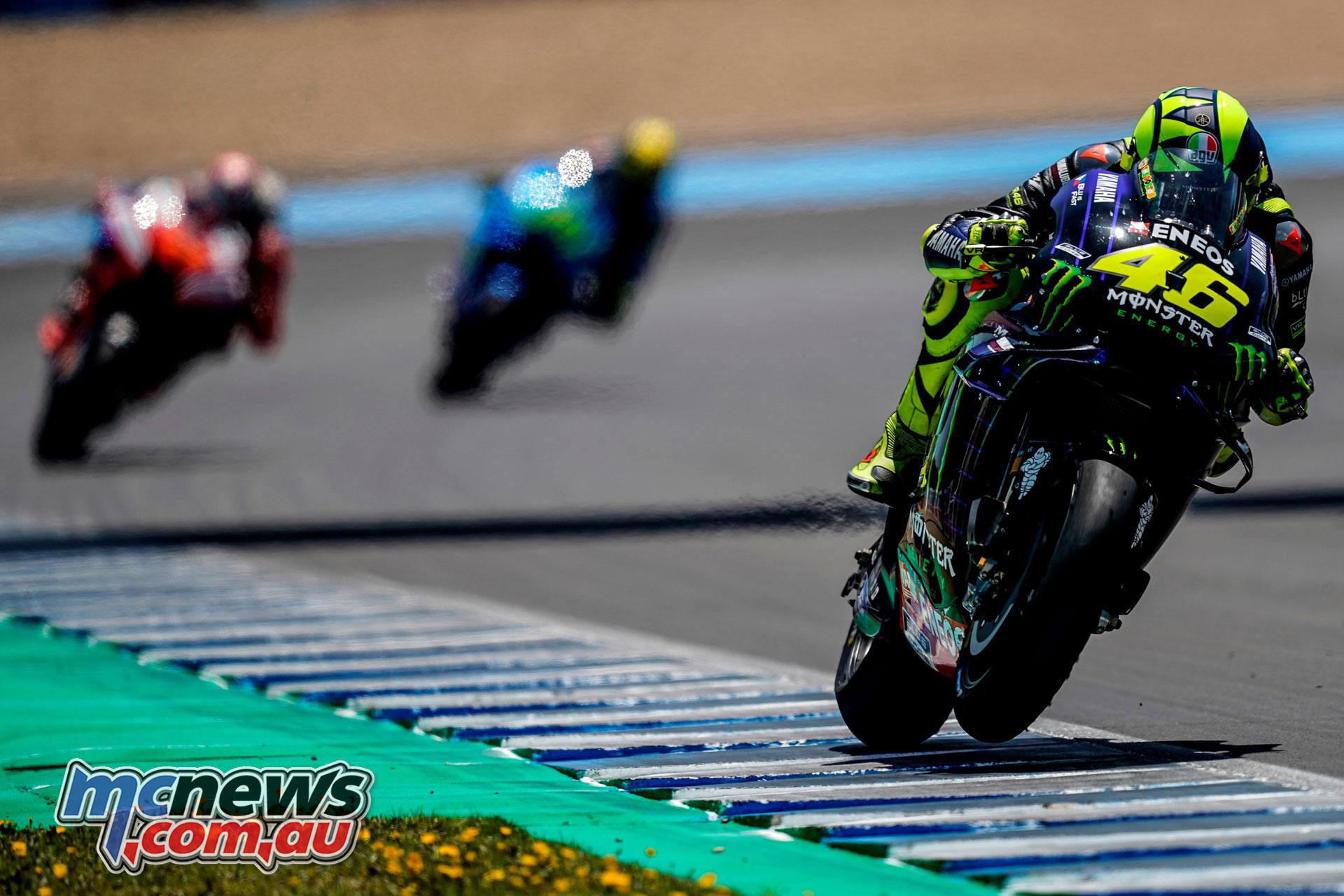 MotoGP Rnd Jerez Sun Valentino Rossi