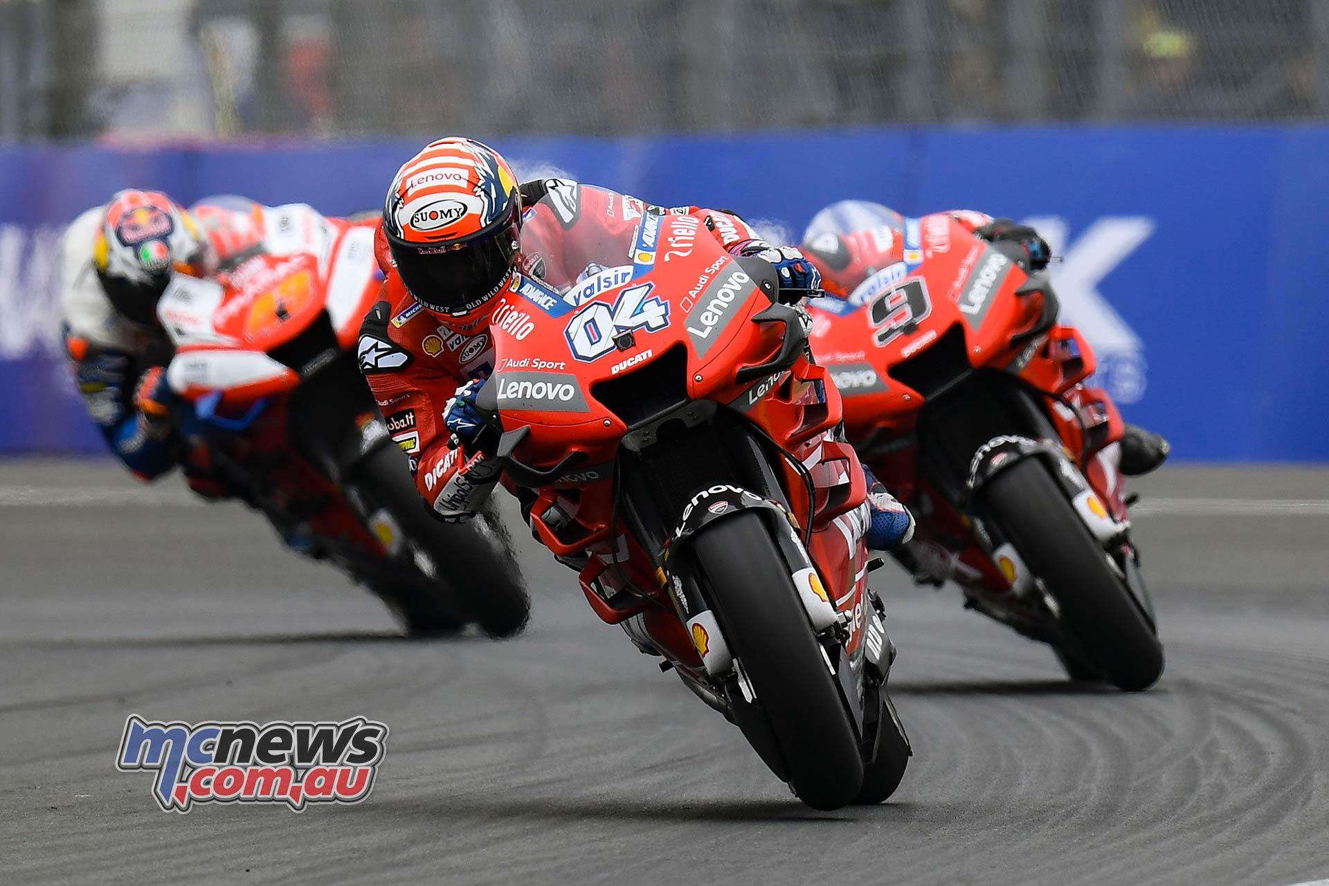 MotoGP Rnd LeMans Dovizioso Petrucci Miller