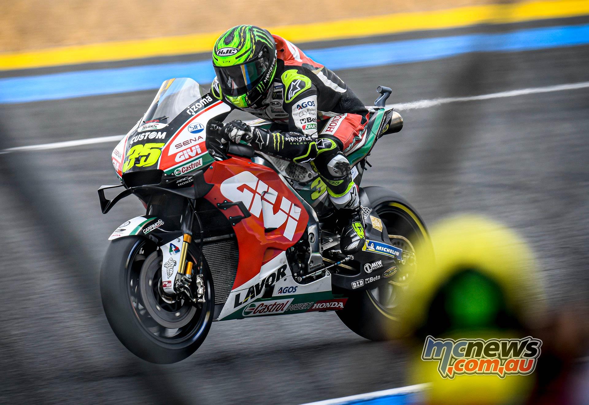 MotoGP Rnd LeMans Fri Crutchlow