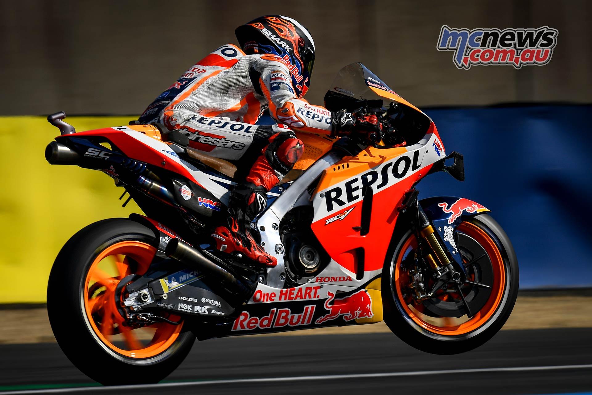 MotoGP Rnd LeMans Fri Lorenzo