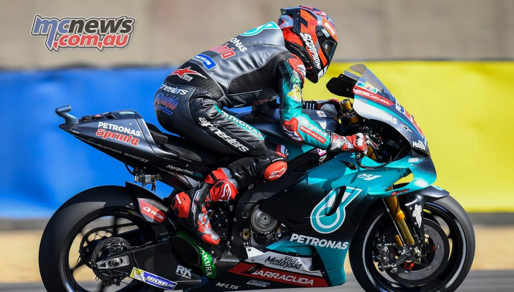 MotoGP Rnd LeMans Fri Quartararo