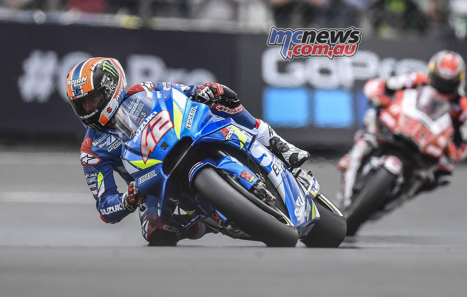 MotoGP Rnd LeMans Fri Rins