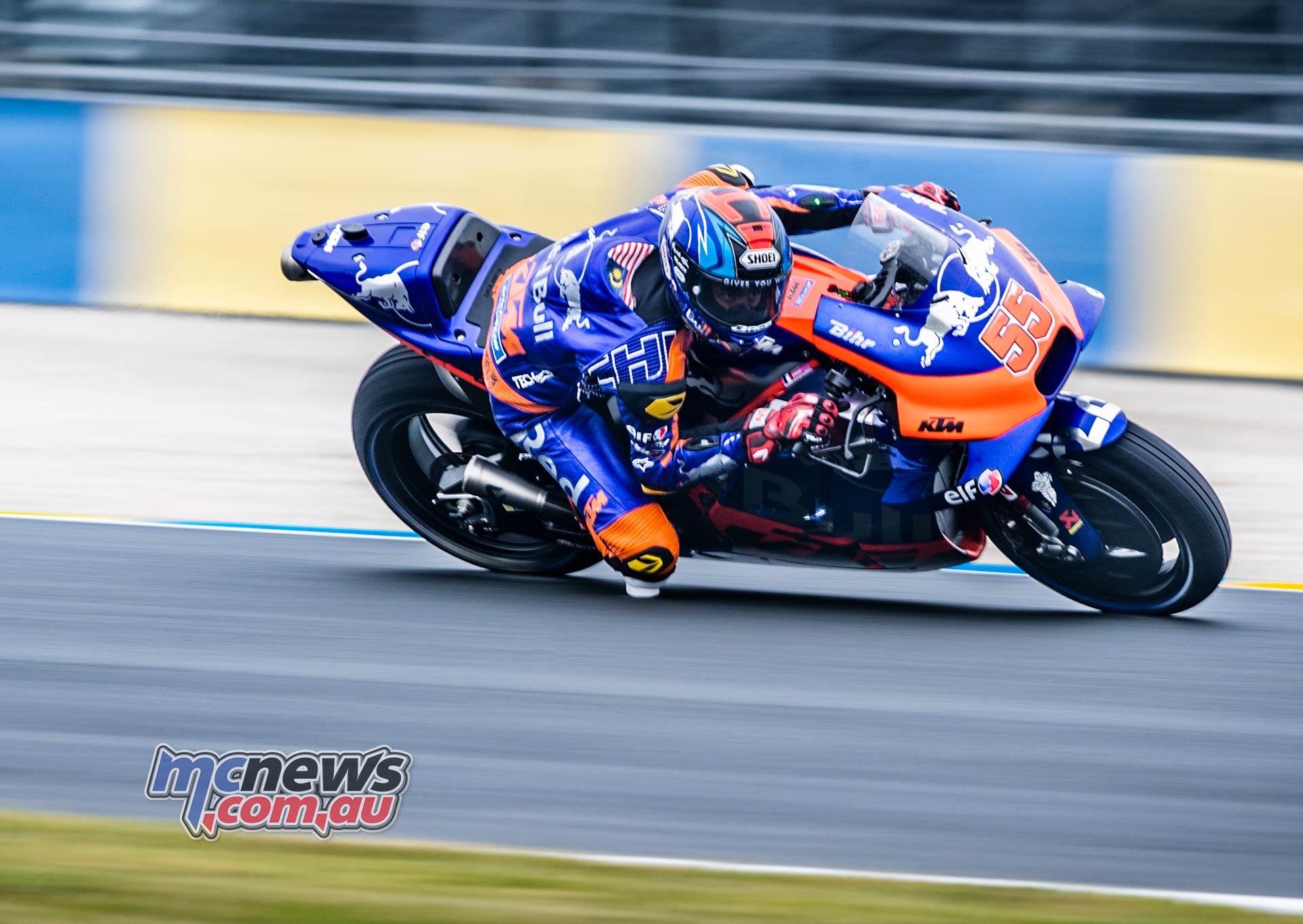 MotoGP Rnd LeMans Hafizh Syahrin
