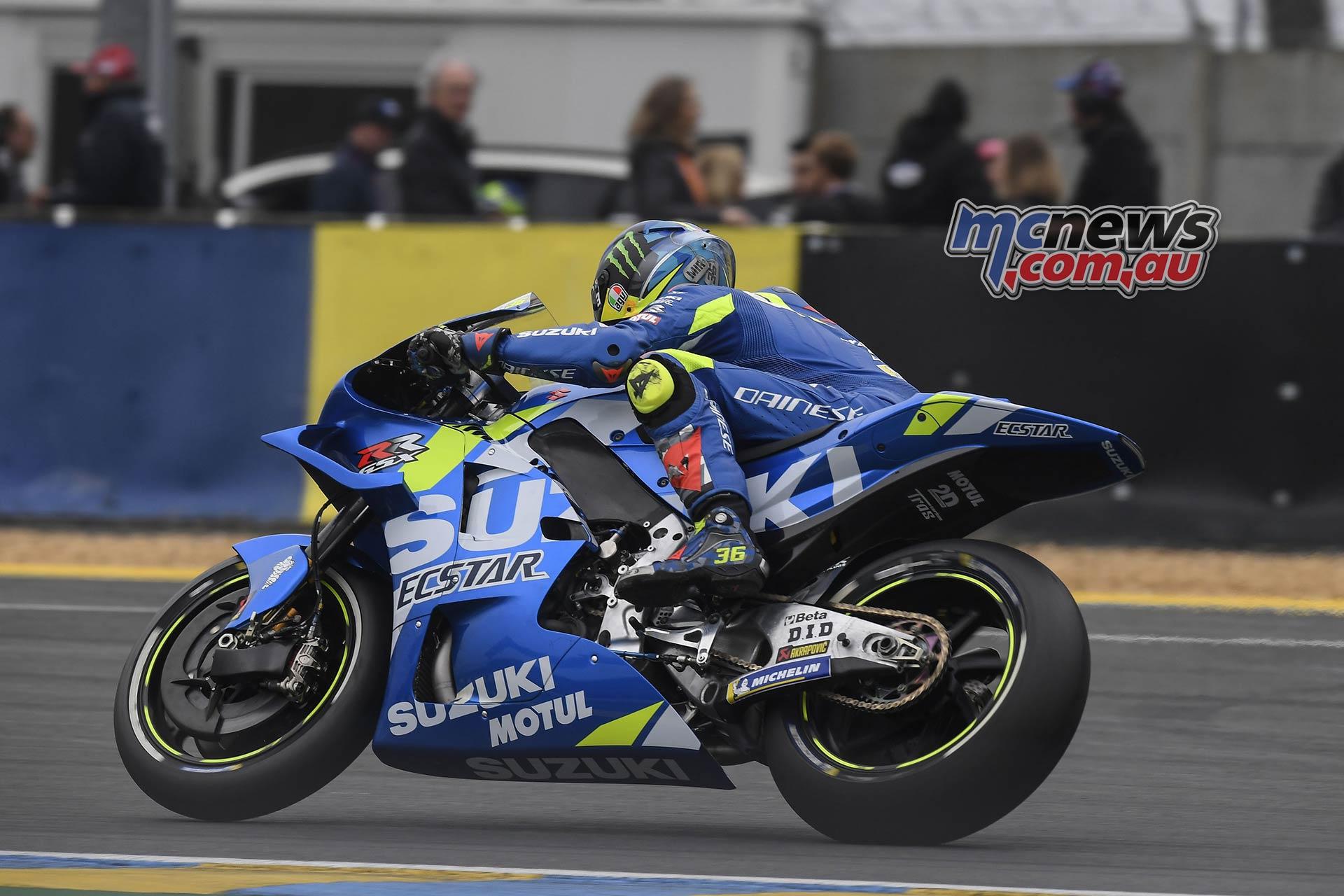 MotoGP Rnd LeMans Joan Mir