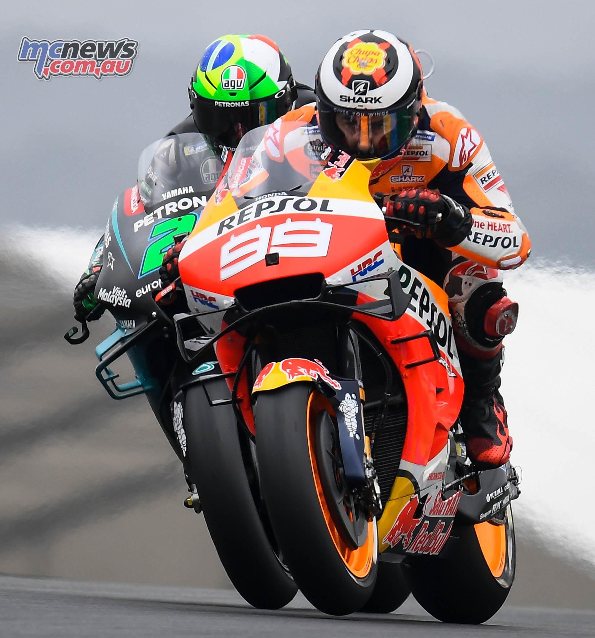 MotoGP Rnd LeMans Lorenzo Morbidelli