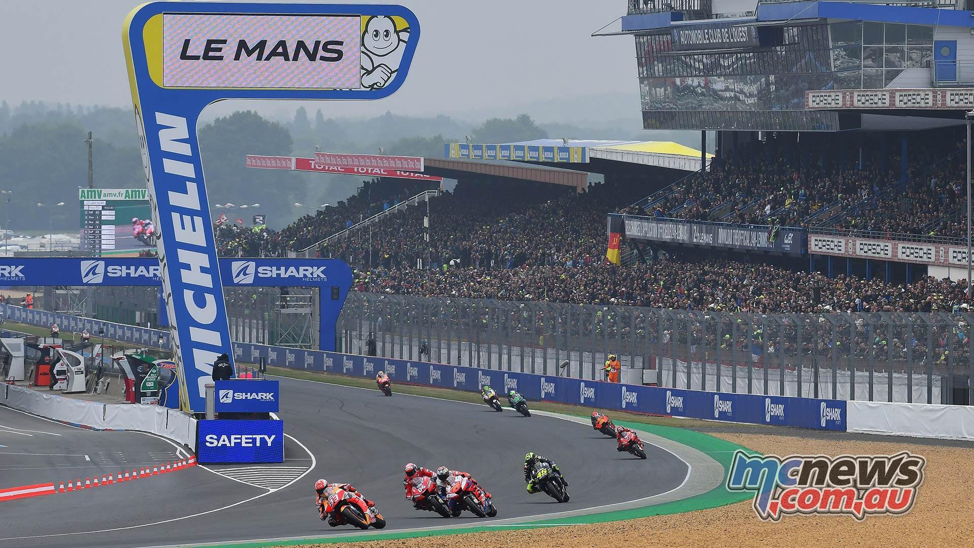 MotoGP Rnd LeMans Marquez Dovi Miller