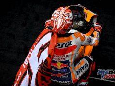 MotoGP Rnd LeMans Marquez Flag