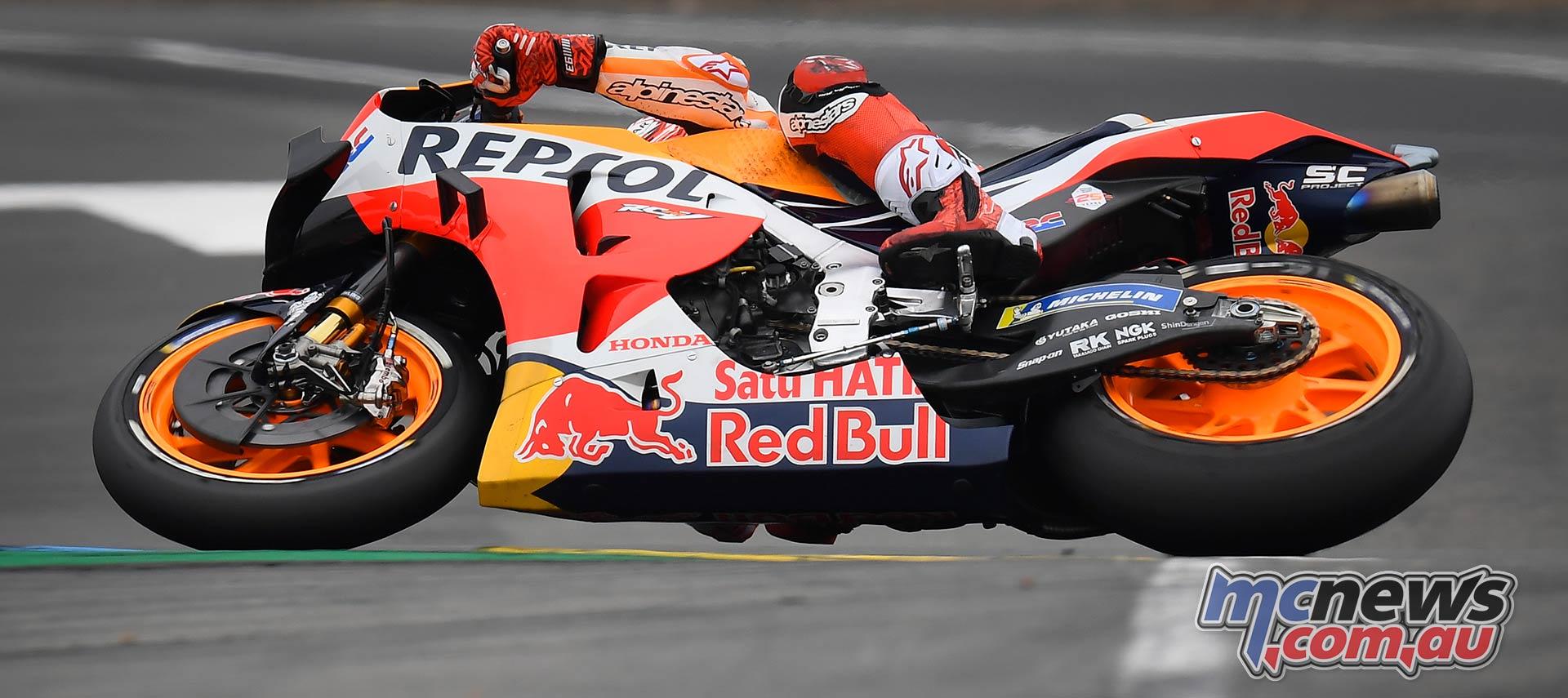 MotoGP Rnd LeMans Marquez LHS