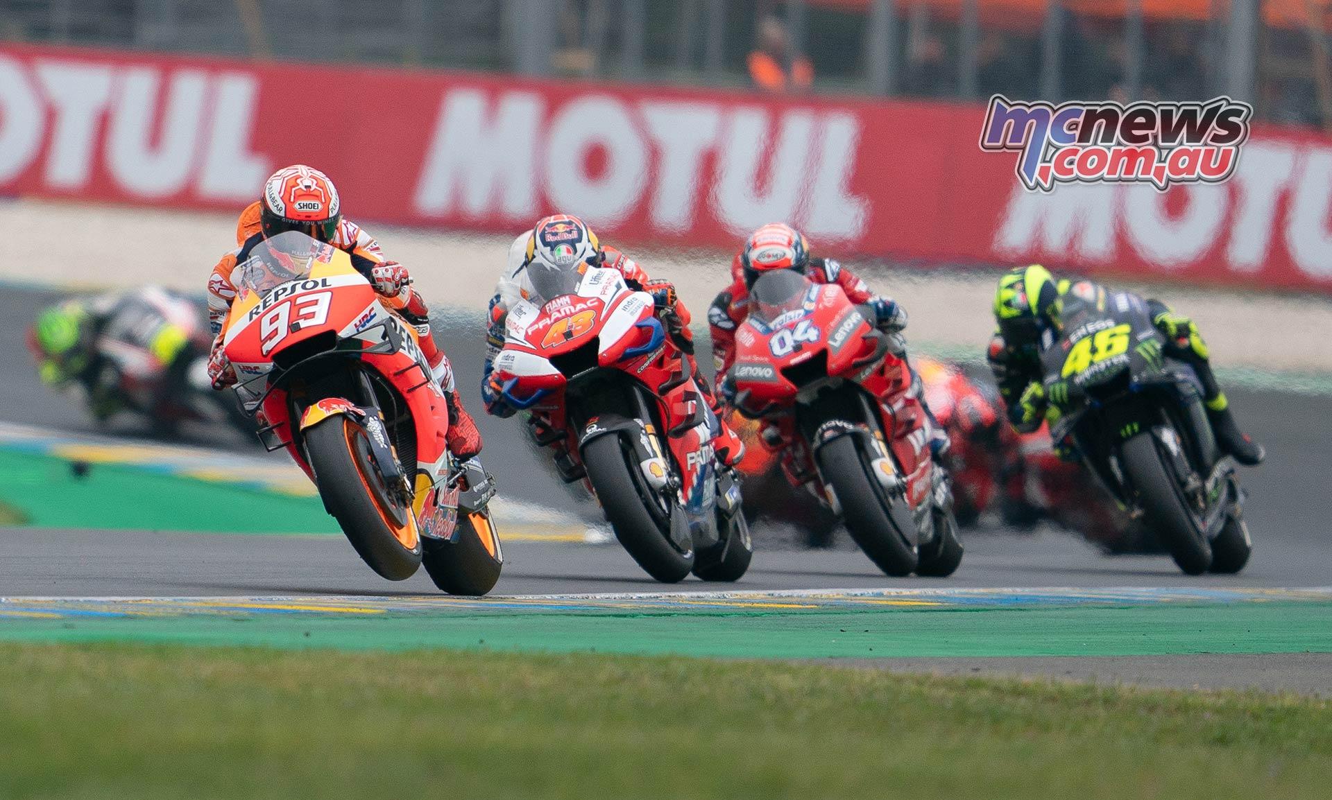 MotoGP Rnd LeMans Marquez Miller Dovi Rossi