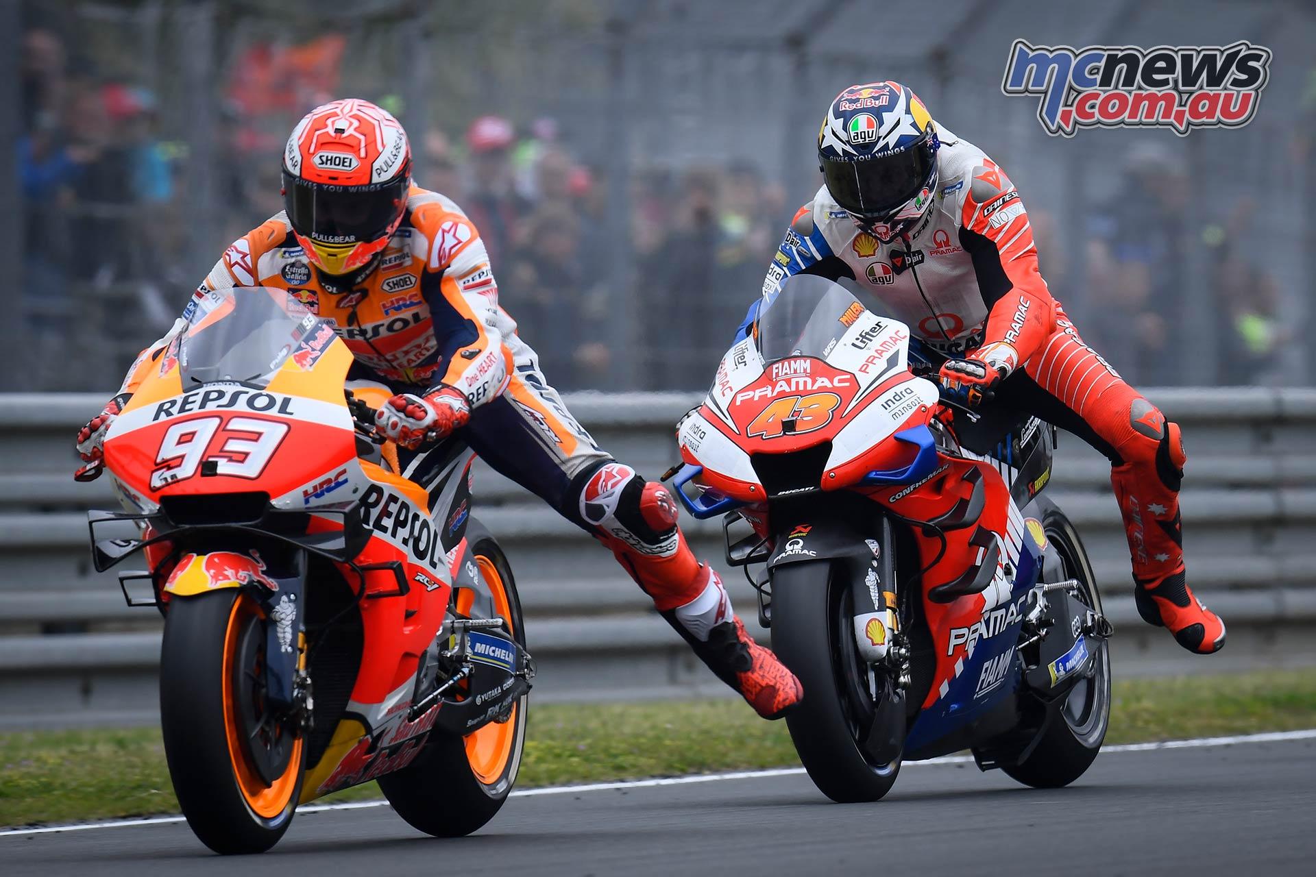 MotoGP Rnd LeMans Marquez Miller