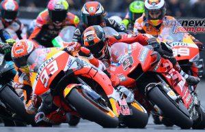 MotoGP Rnd LeMans Marquez Start