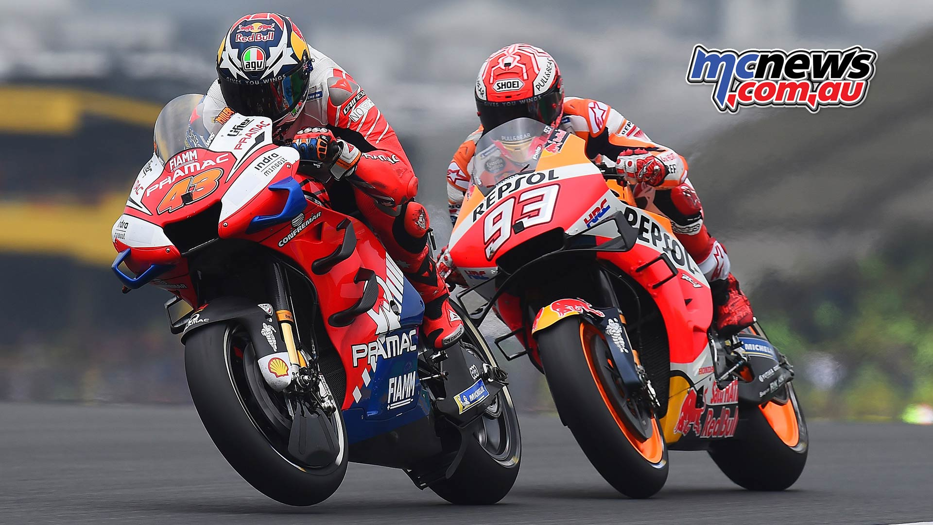 MotoGP Rnd LeMans Miller Marquez