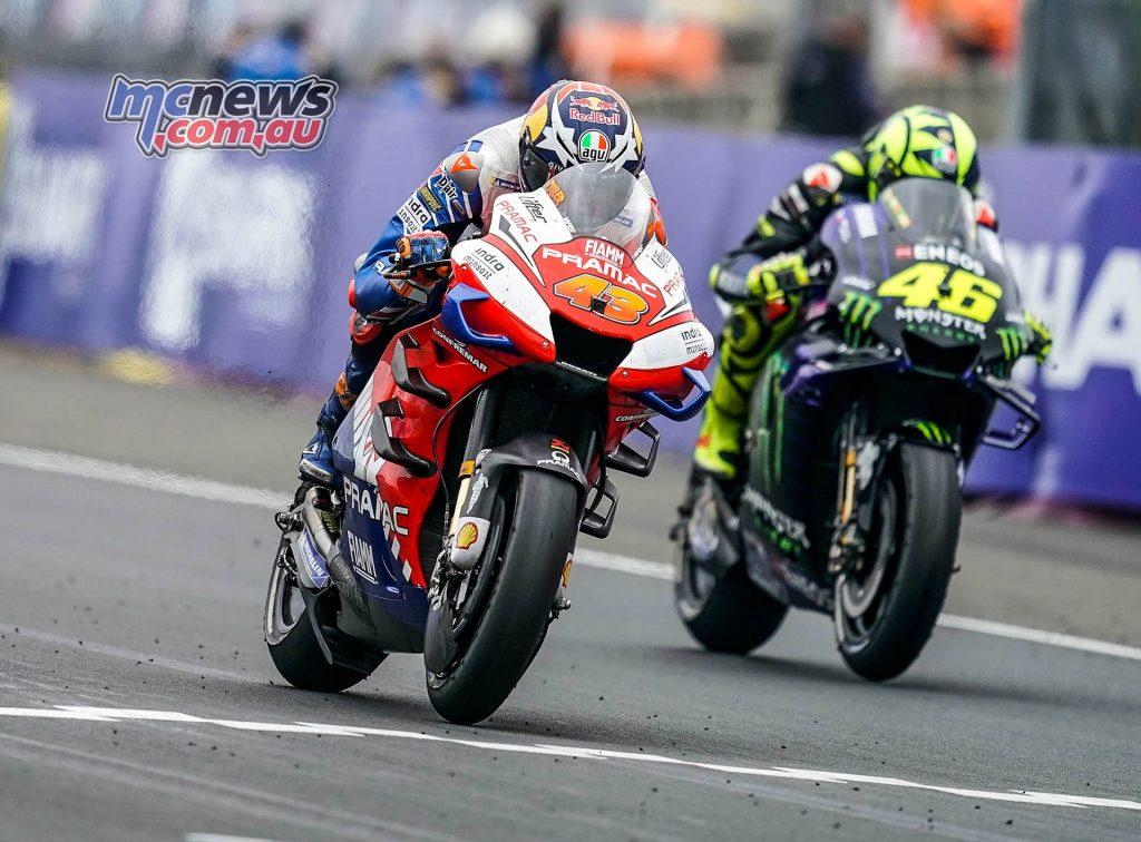 MotoGP Rnd LeMans Miller Rossi