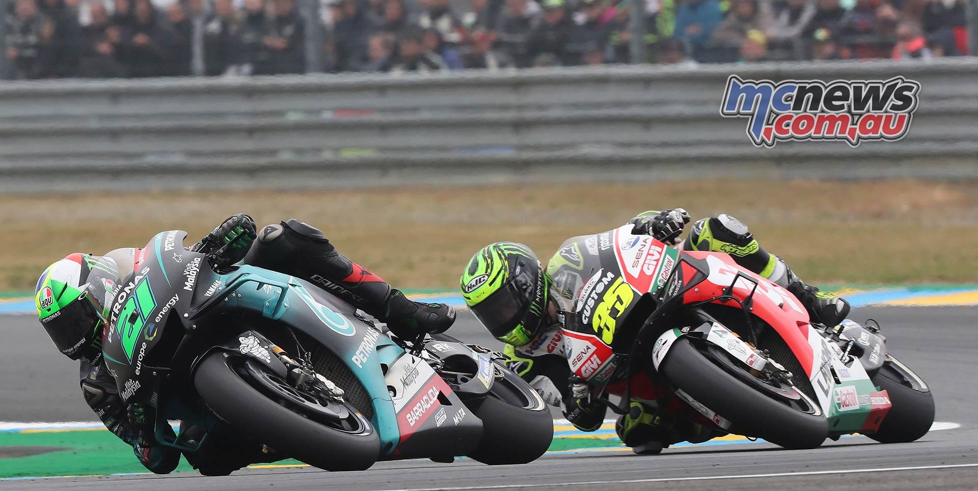 MotoGP Rnd LeMans Morbidelli Crutchlow