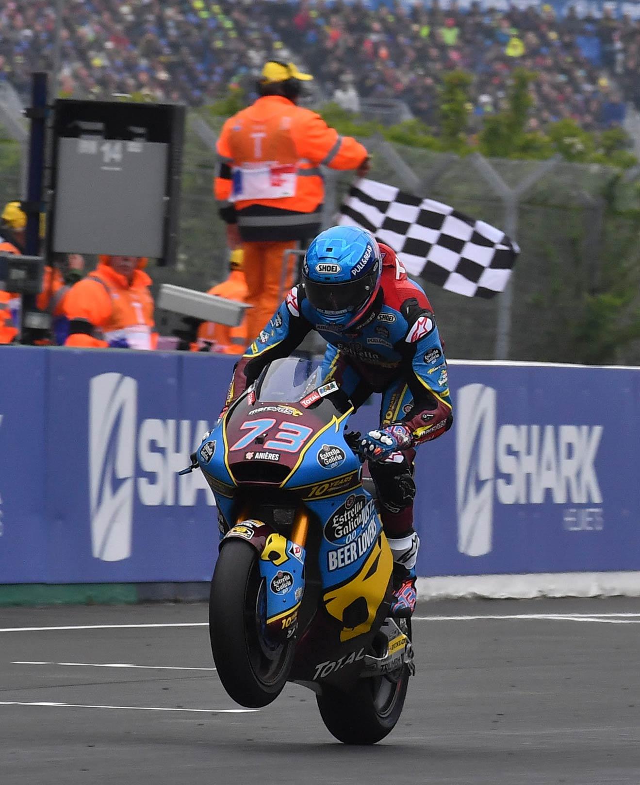 MotoGP Rnd LeMans Moto Alex Marquez