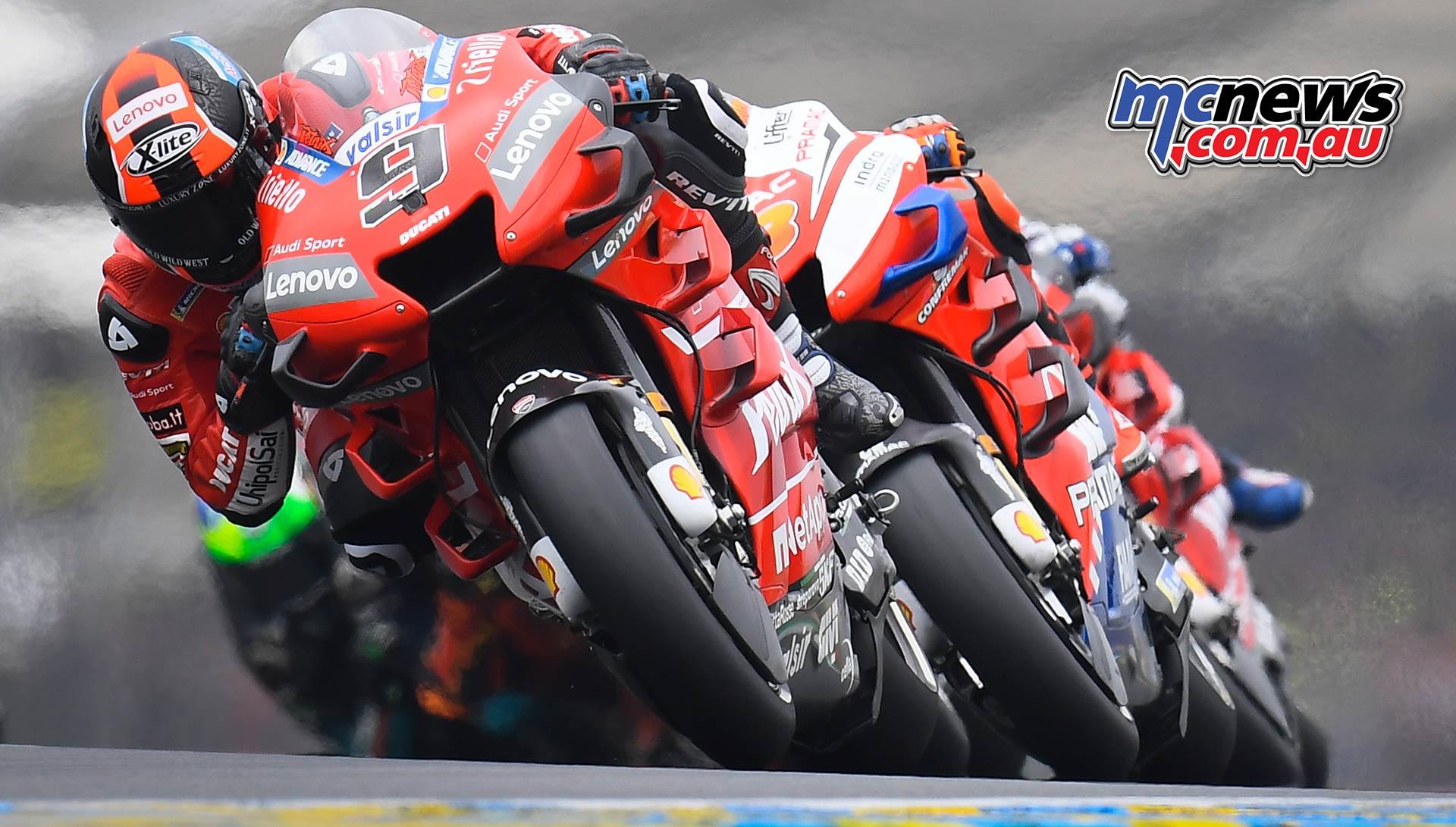 MotoGP Rnd LeMans Petrucci Miller