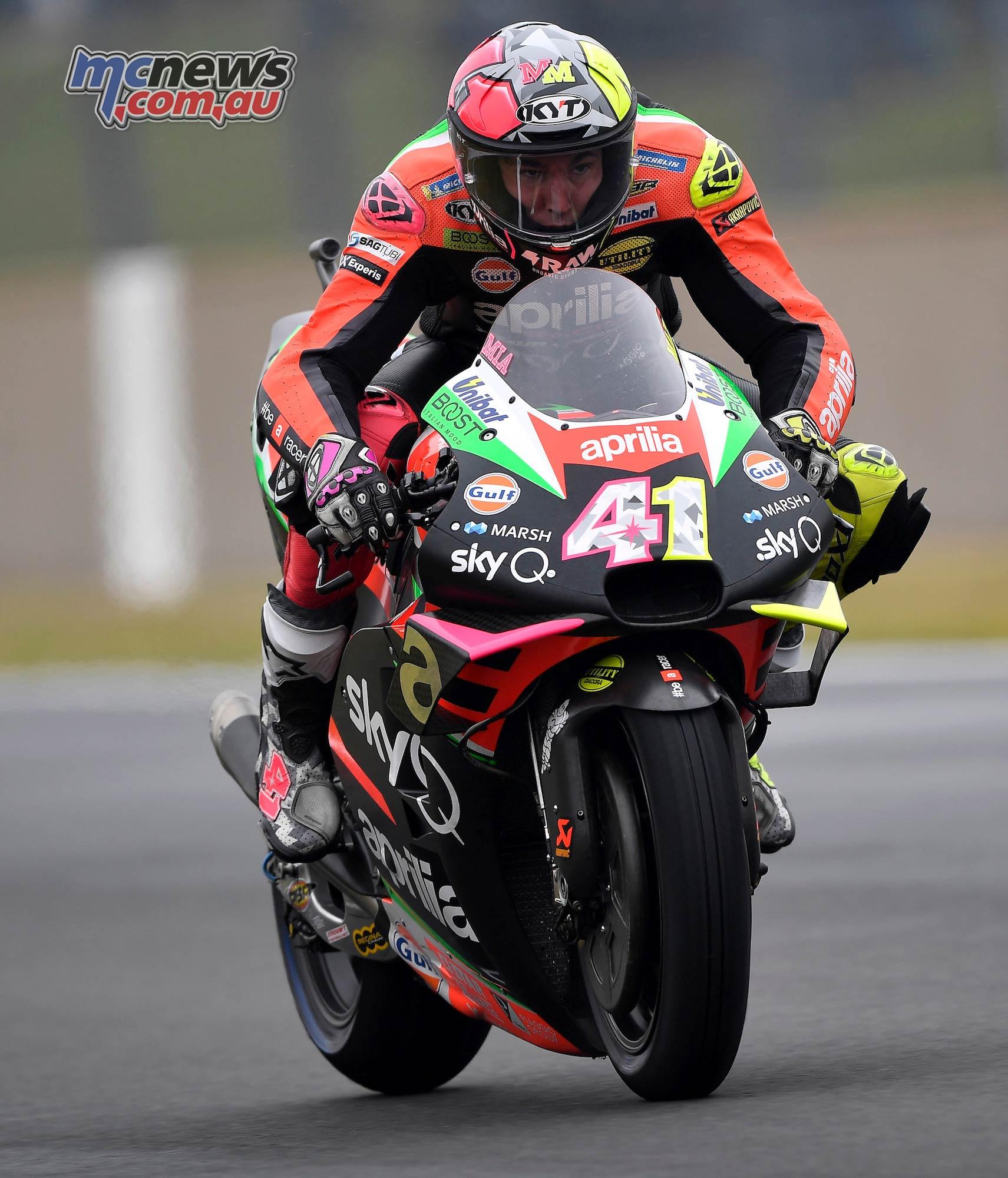 MotoGP Rnd LeMans QP Aleix Espargaro