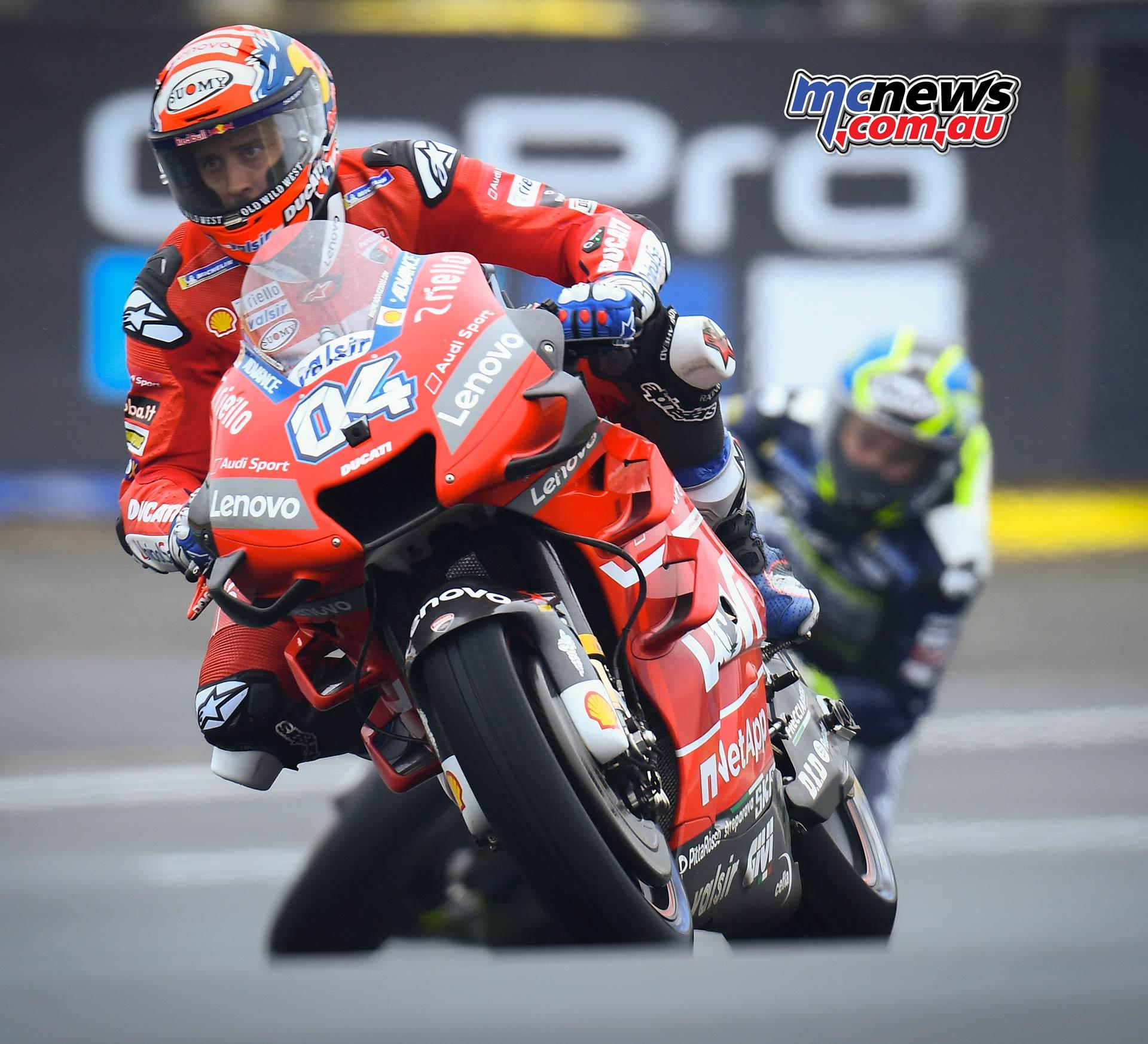 MotoGP Rnd LeMans QP Dovizioso