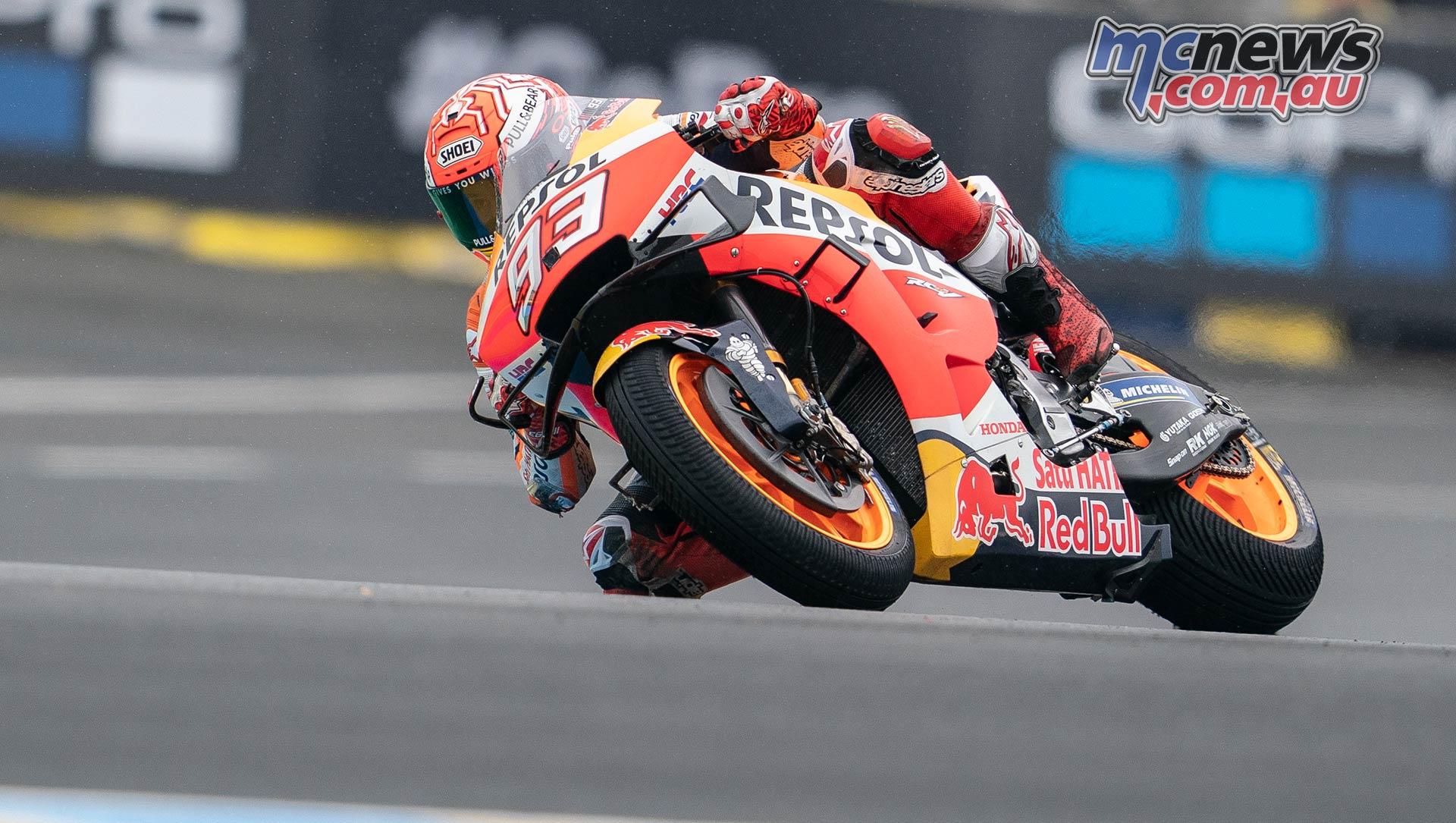 MotoGP Rnd LeMans QP Marquez