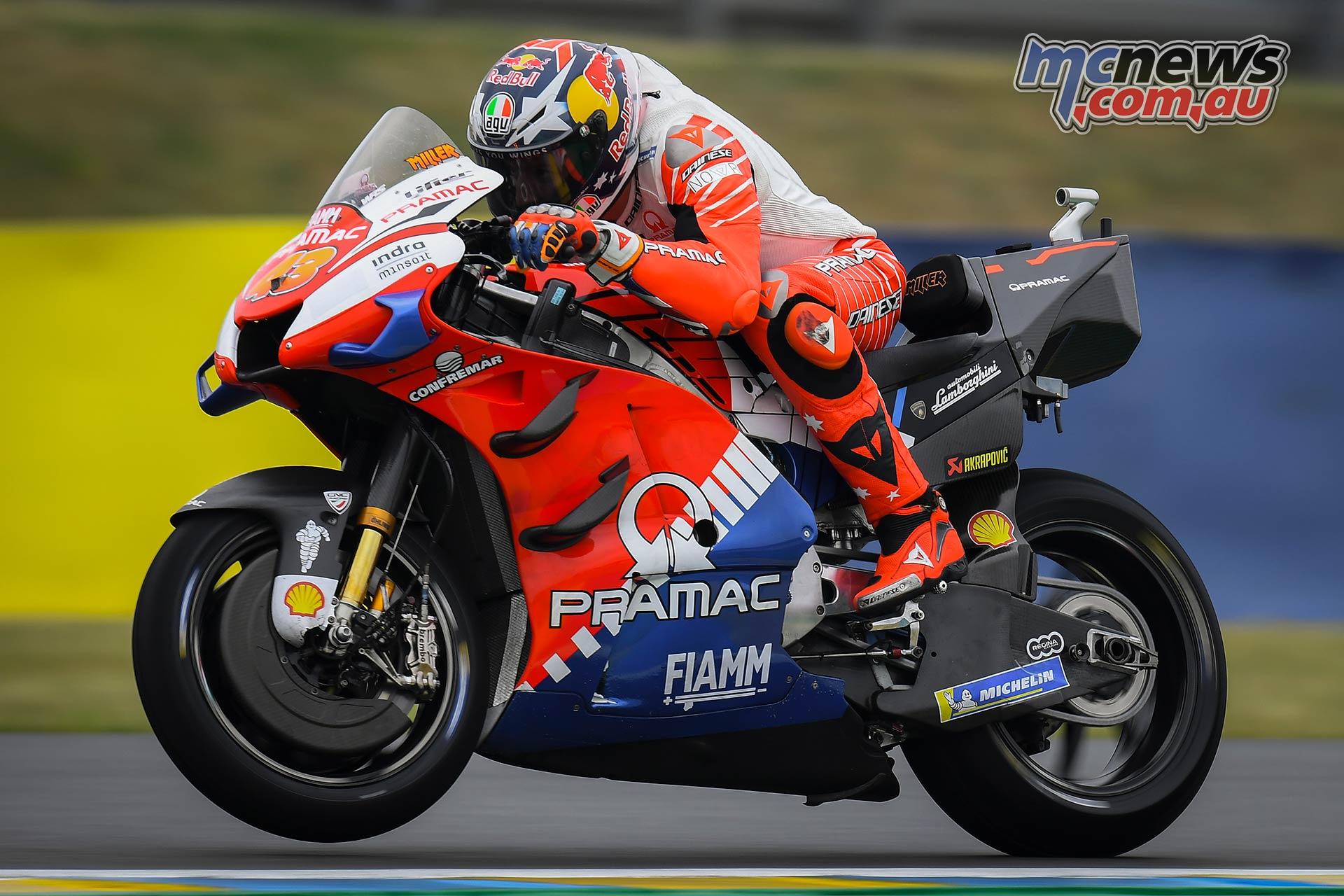 MotoGP Rnd LeMans QP Miller