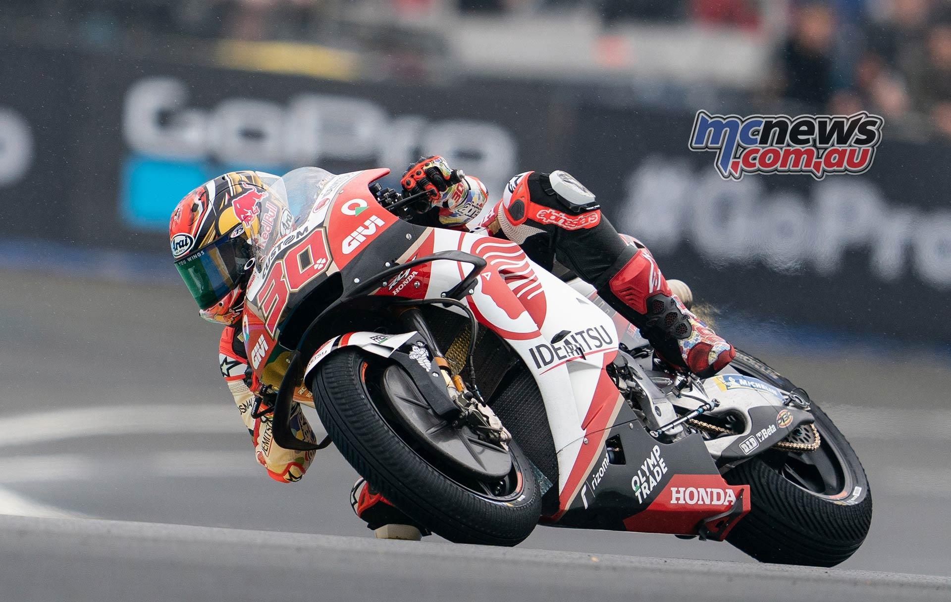 MotoGP Rnd LeMans QP Nakagami