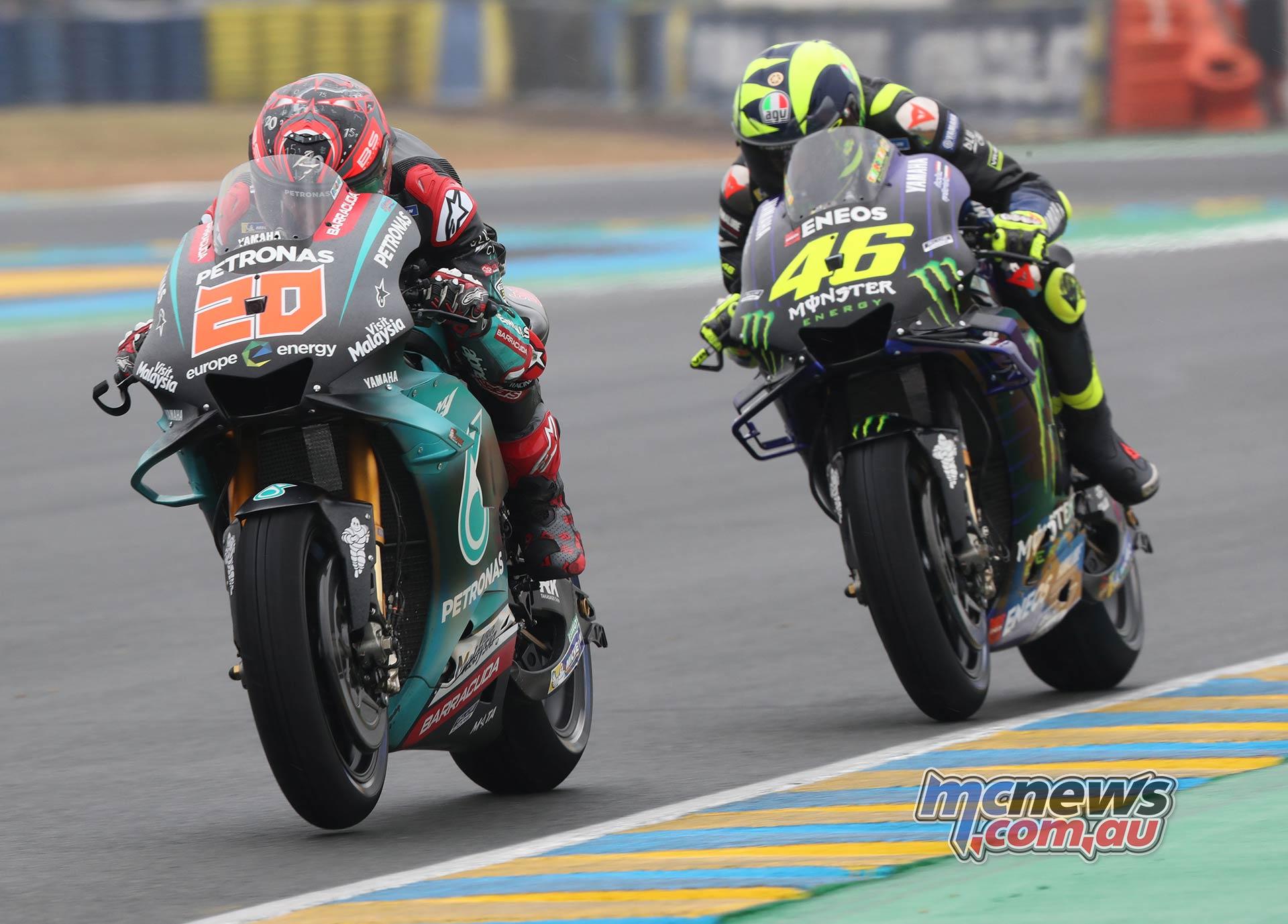 MotoGP Rnd LeMans QP Quartararo