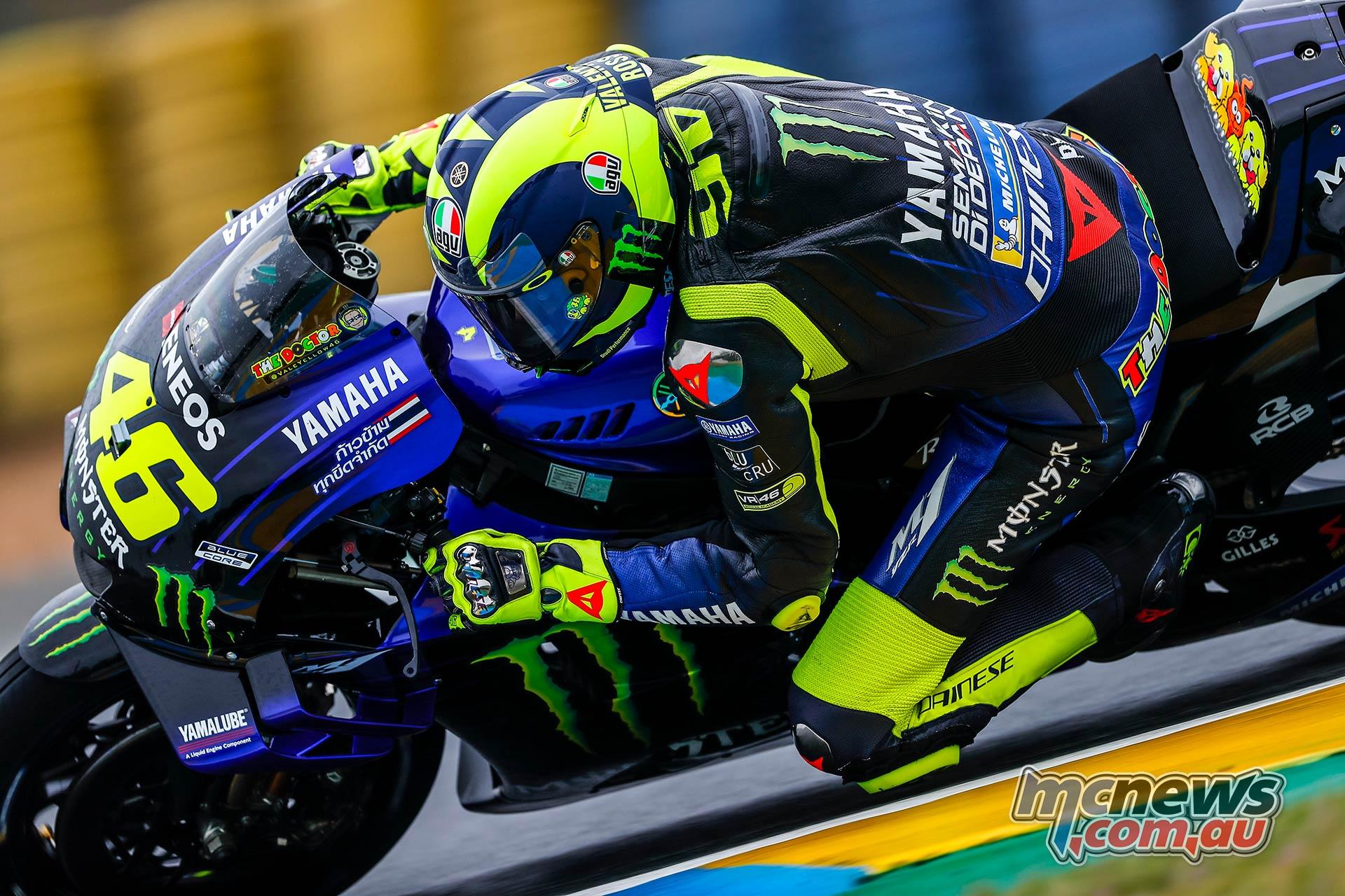 MotoGP Rnd LeMans QP Rossi