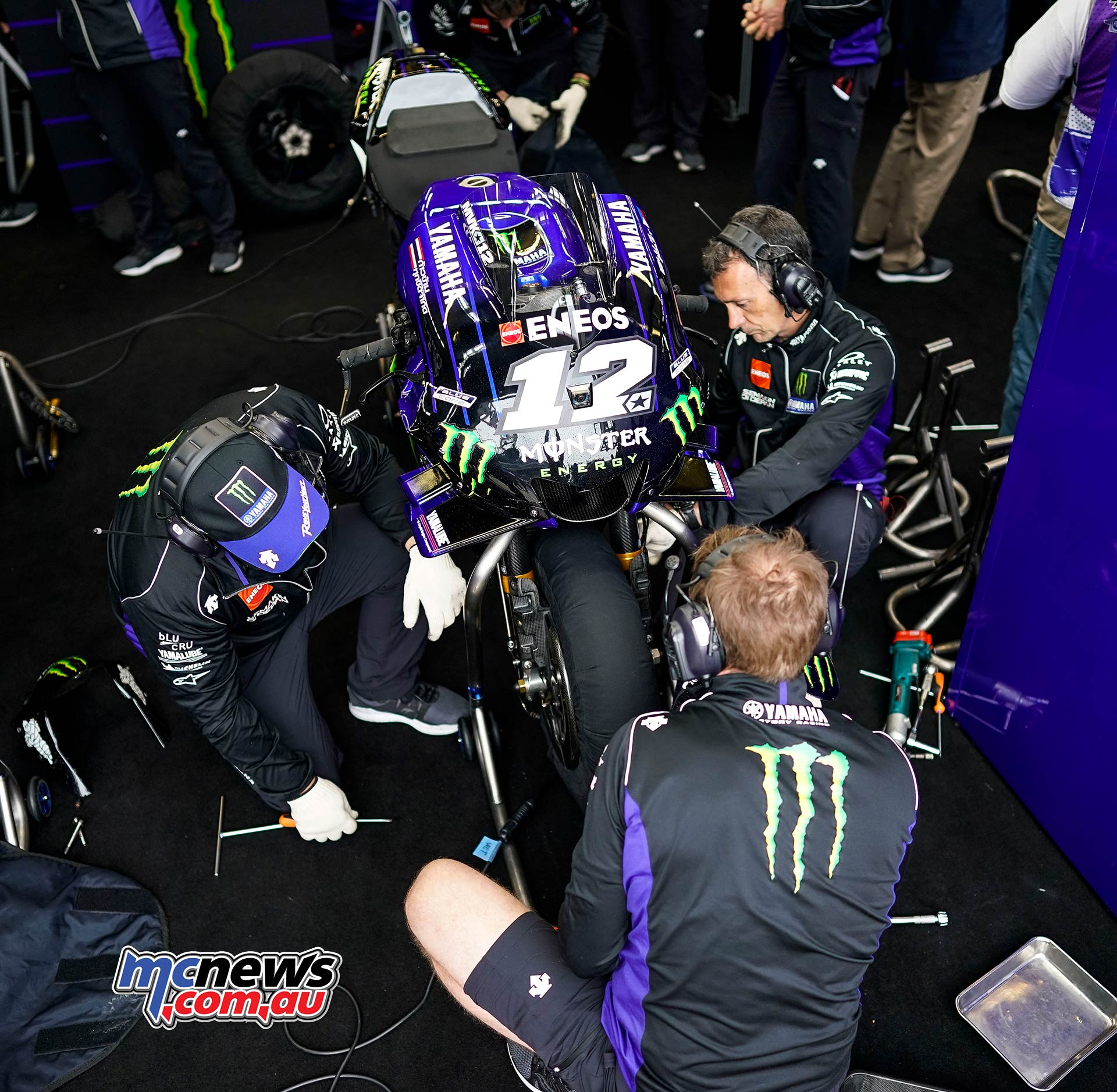 MotoGP Rnd LeMans QP Vinales