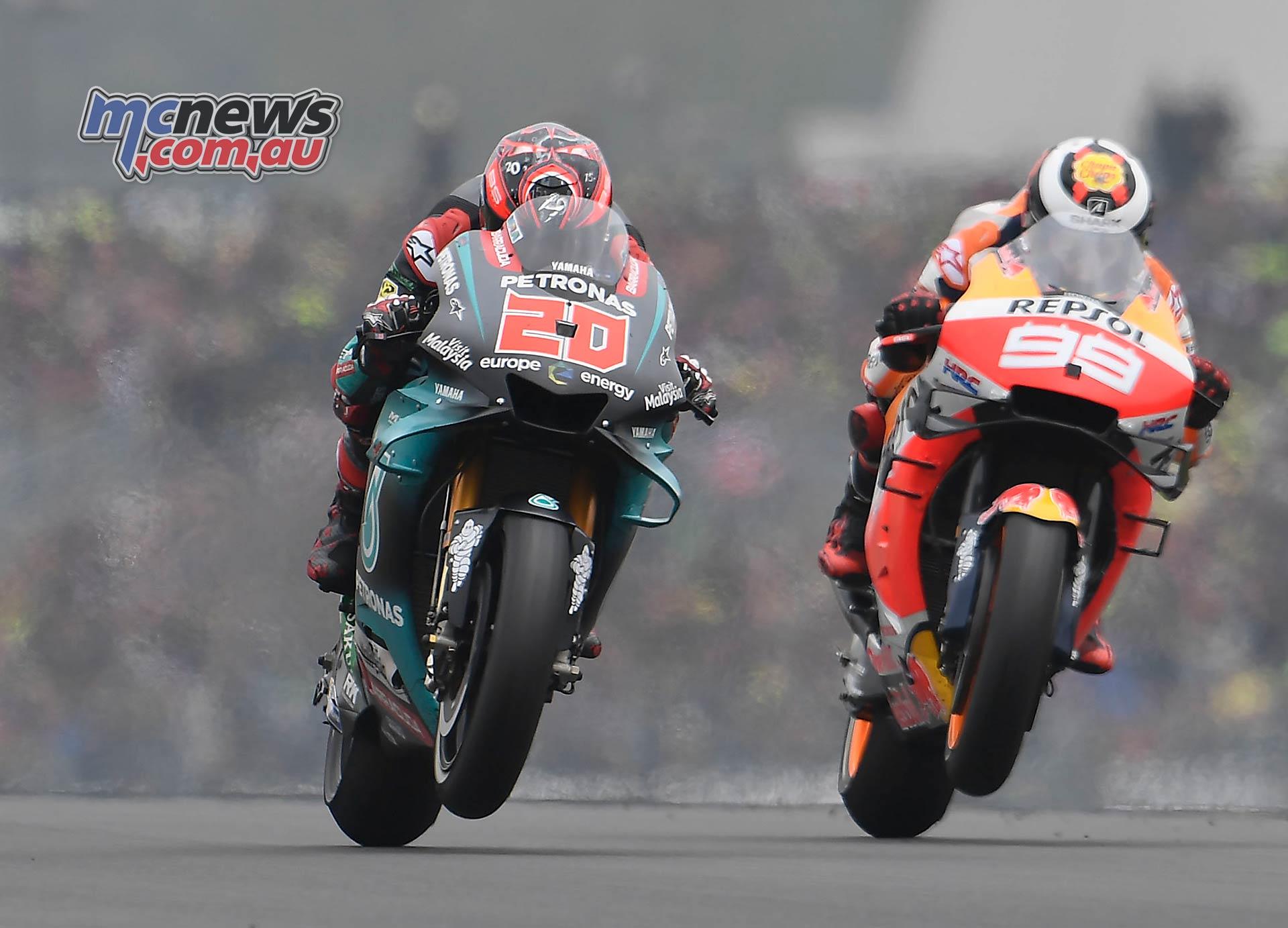 MotoGP Rnd LeMans Quartararo Lorenzo