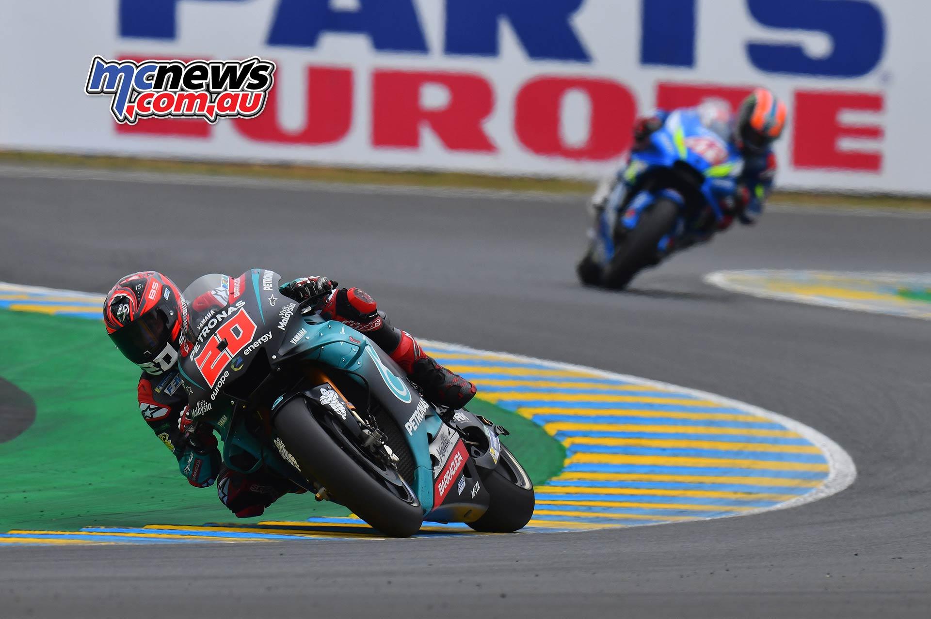 MotoGP Rnd LeMans Quartararo