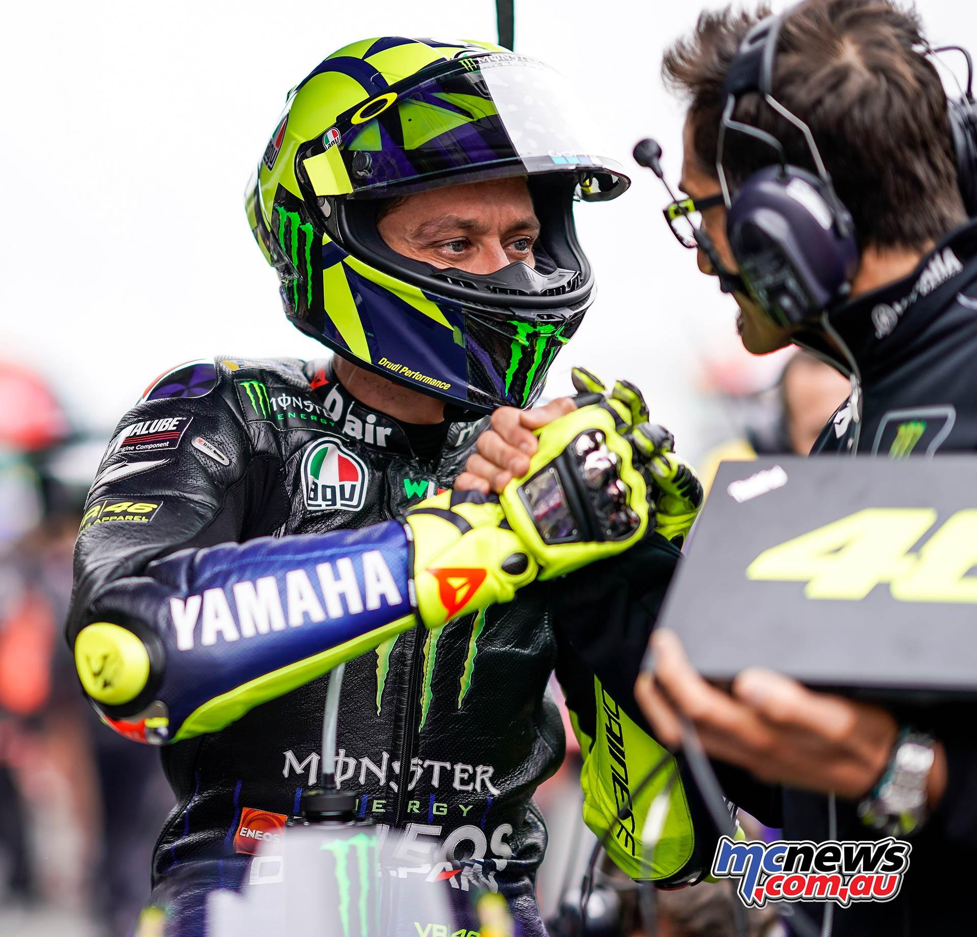 MotoGP Rnd LeMans Rossi Grid