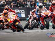MotoGP Rnd LeMans Start Marquez Miller Dovi Lorenzo