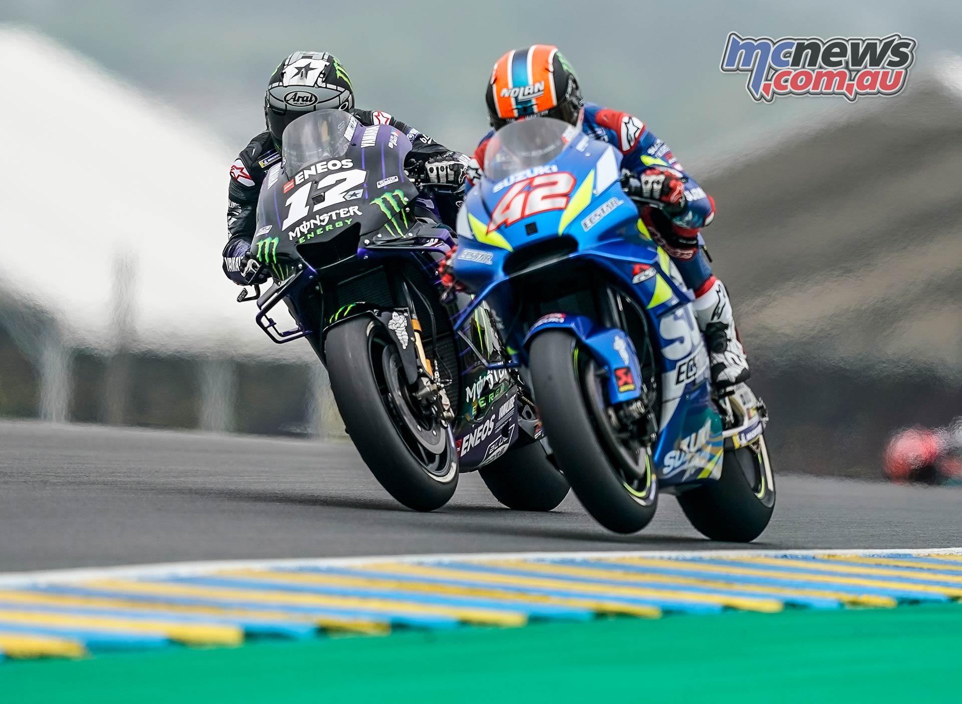 MotoGP Rnd LeMans Vinales Rins