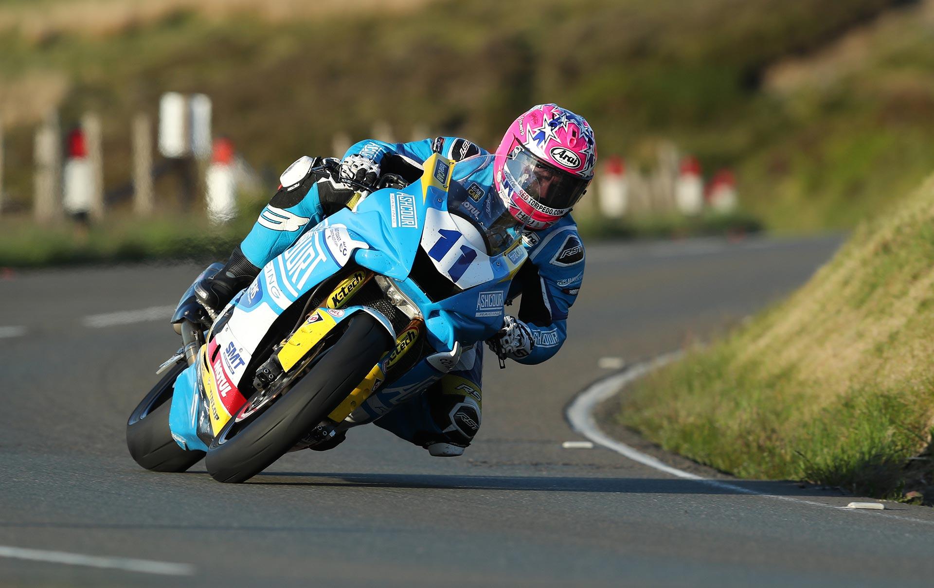 TT Qualifying Tuesday Lee Johnston
