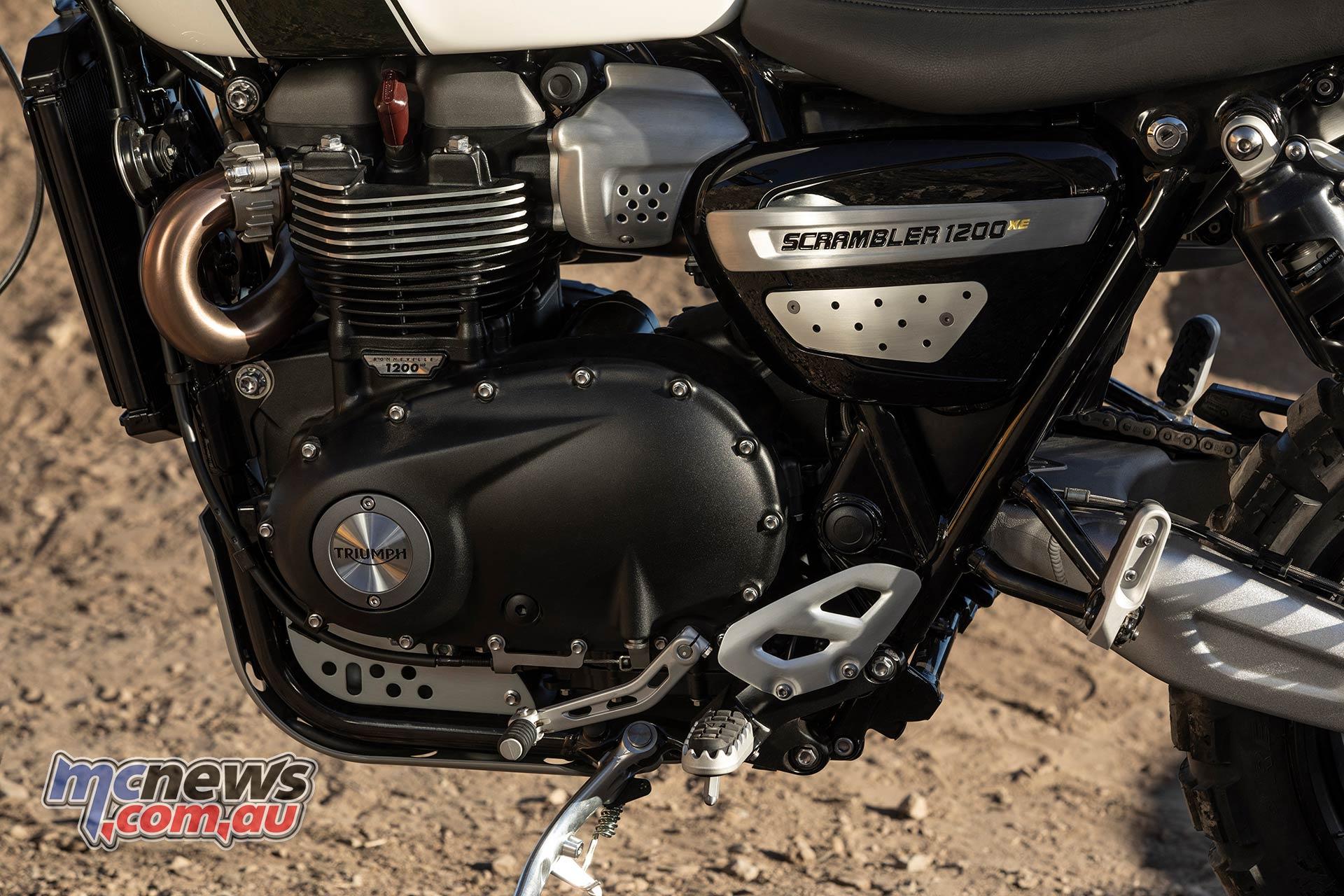 Triumph Scrambler XE Engine